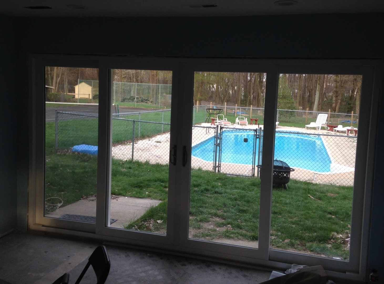 12 Foot High Sliding Glass Door