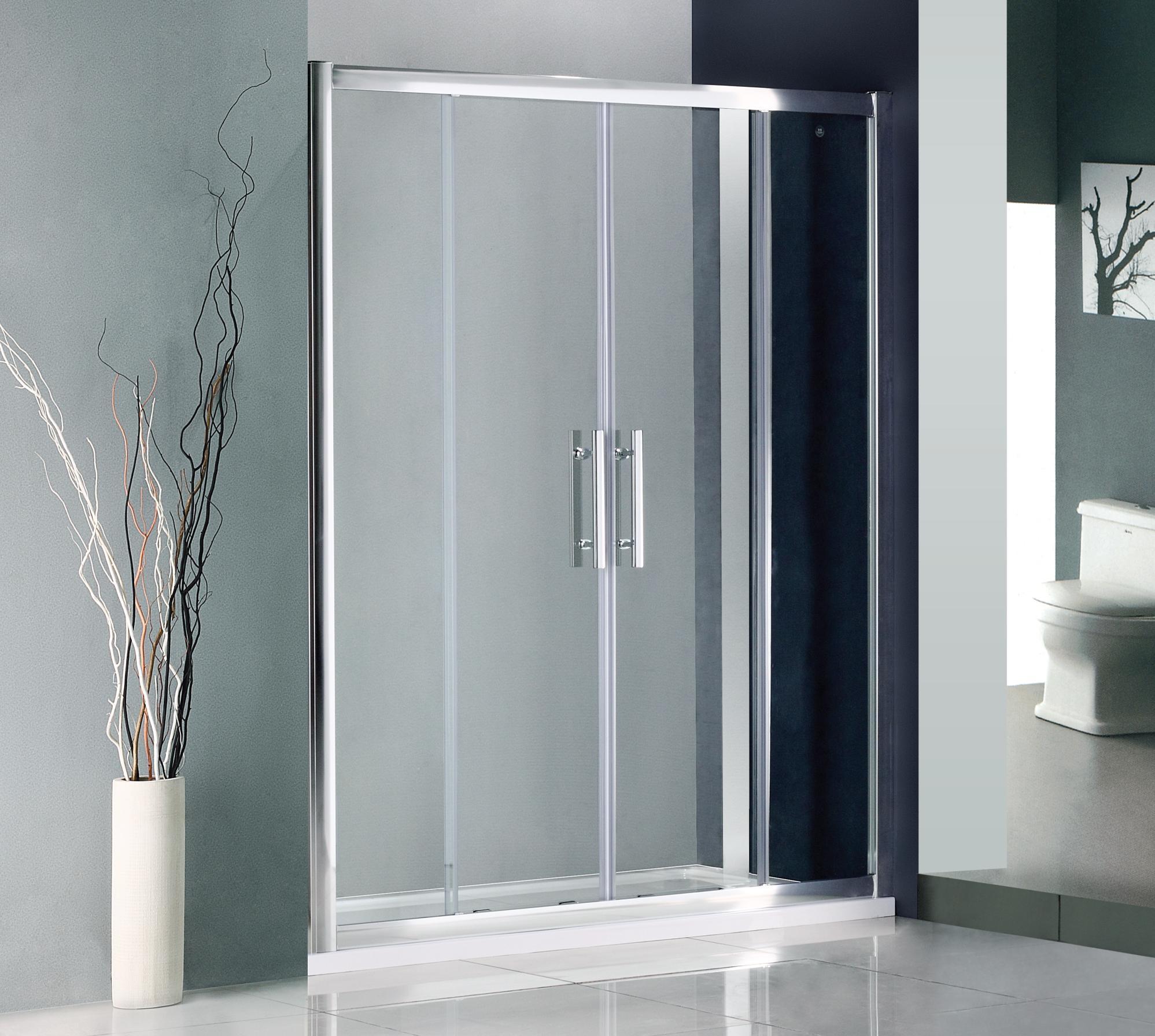 1600mm Double Sliding Door Shower Enclosure1600mm Double Sliding Door Shower Enclosure