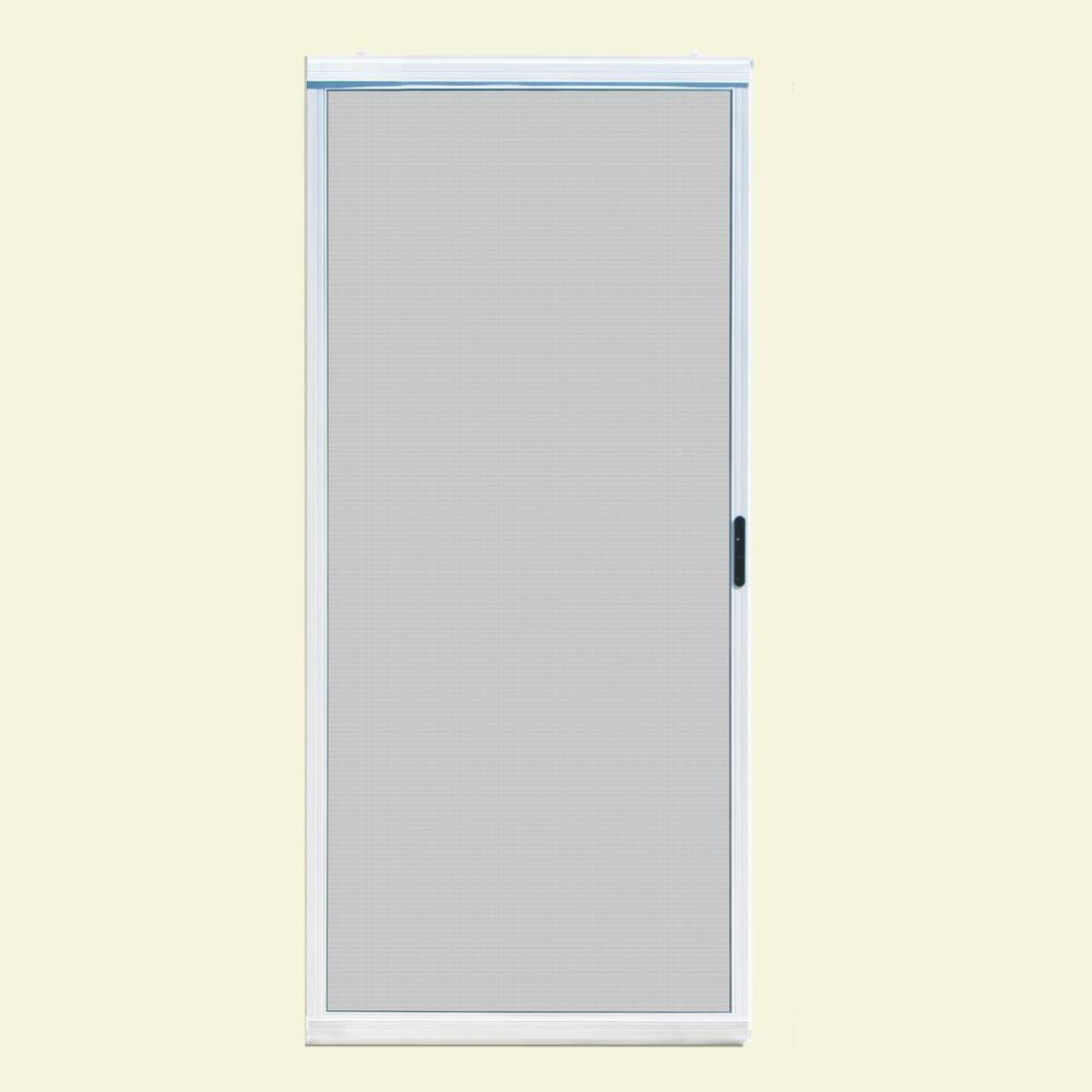 Sliding Patio Screen Door 36 Unique Home Designs 36 In X 80 In Ultimate White Metal Jeld Wen