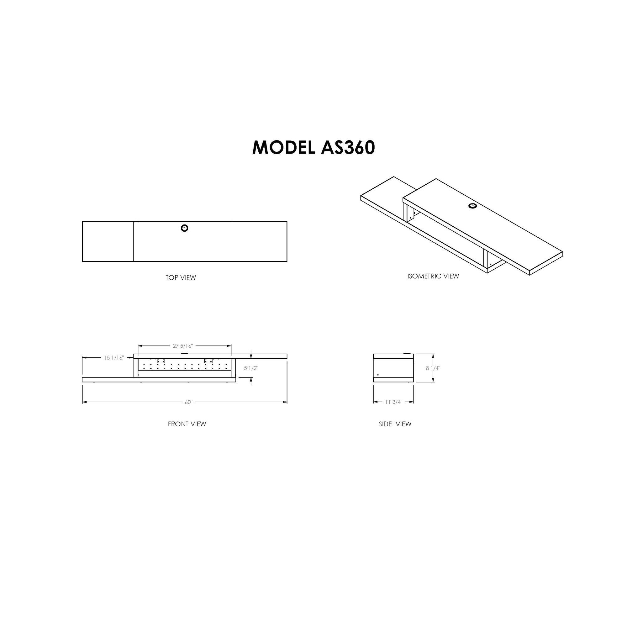 Ascend Ii White 55 Sliding Door Storage Unit2000 X 2000