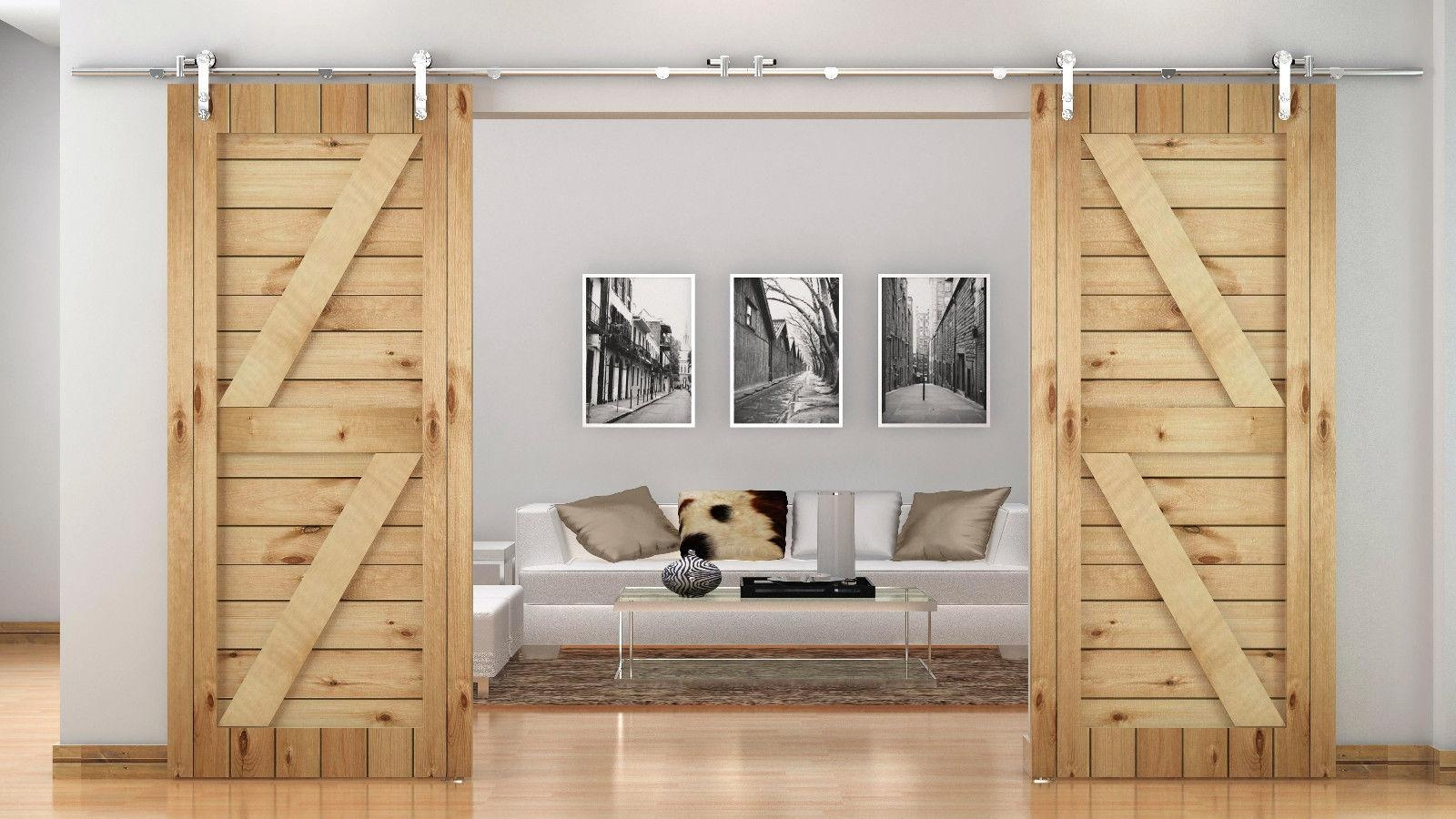 Barn Wood Sliding Closet Doors1600 X 900