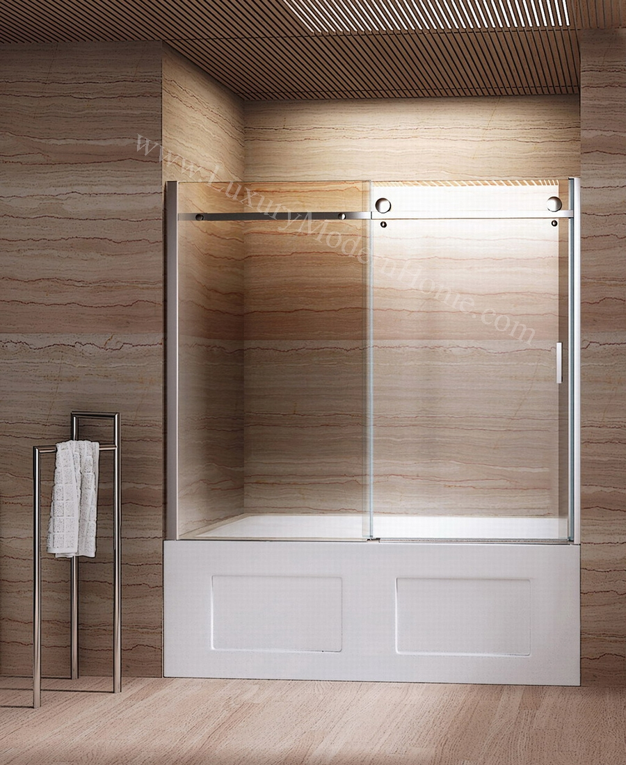 Bathtub Frameless Sliding Glass Doorsbathtub with sliding glass doors google search boys bathroom