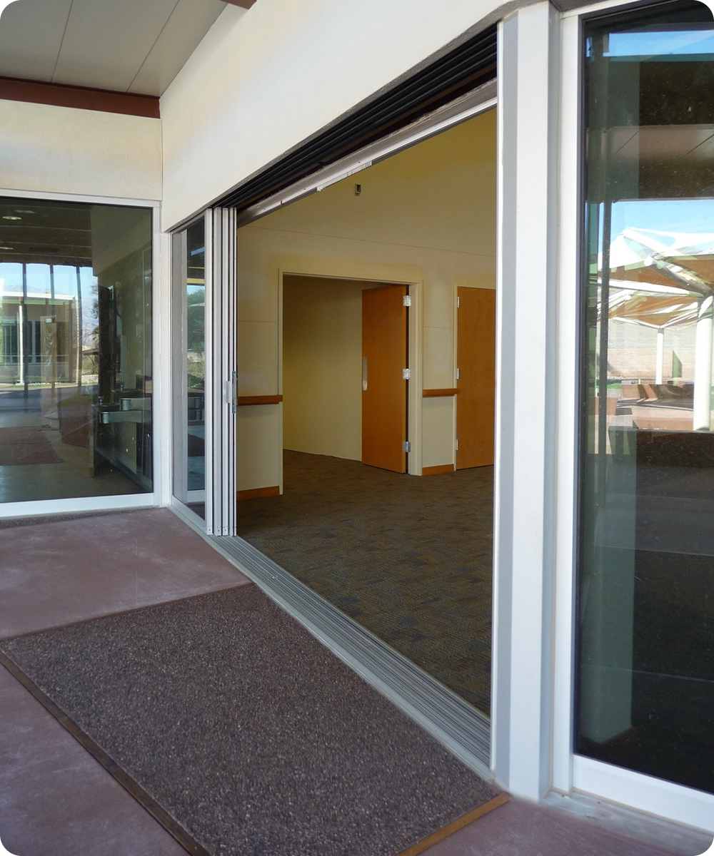 Nice Center Opening Sliding Glass Patio Doorssliding Doors Death Valley Visitor Center  Sliding Doors Open