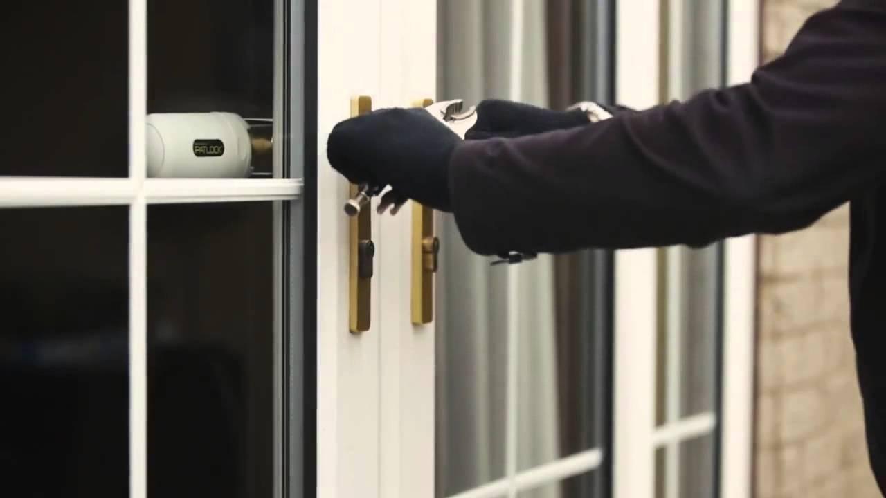 Double Sliding Glass Door Security Locks Sliding Doors