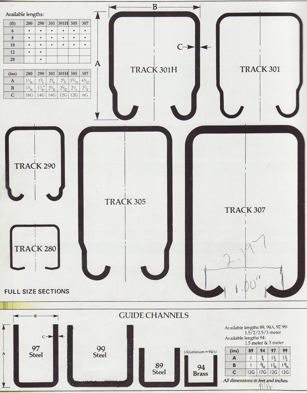 Metal Sliding Door Runnerspchenderson industrial door track for sliding doors
