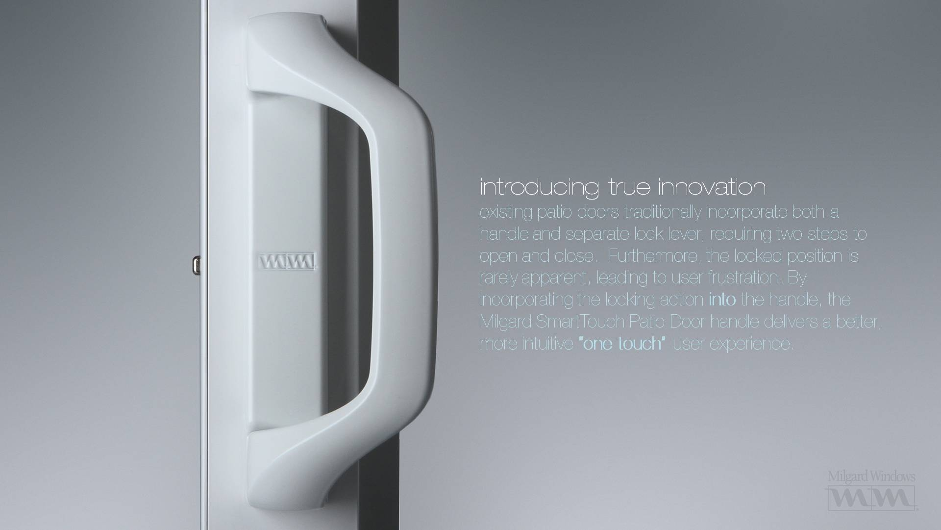 Milgard Sliding Glass Door Hardwaremilgard smarttouch sliding glass door handle tim hulford at