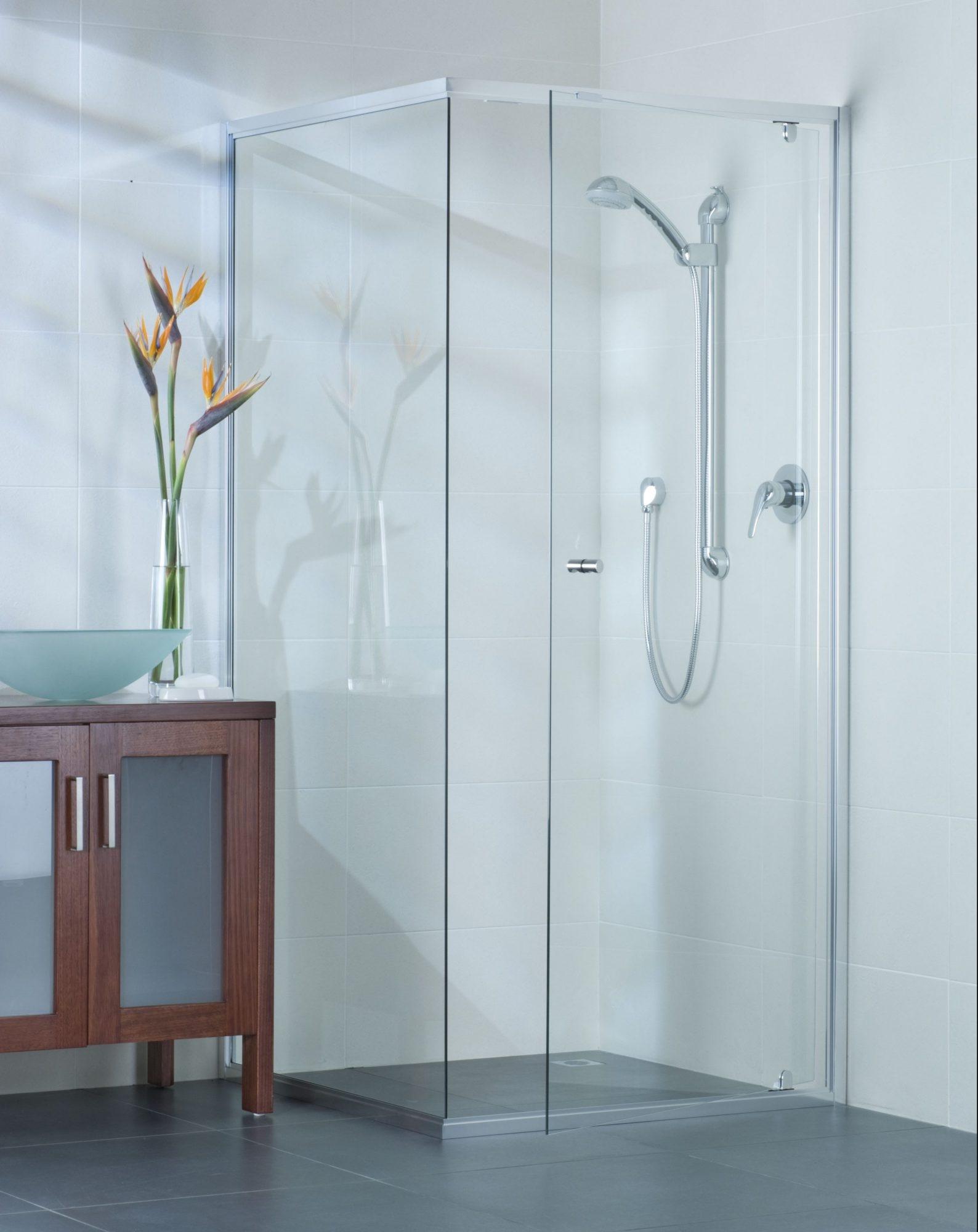 Semi Frameless Sliding Door Shower Screen