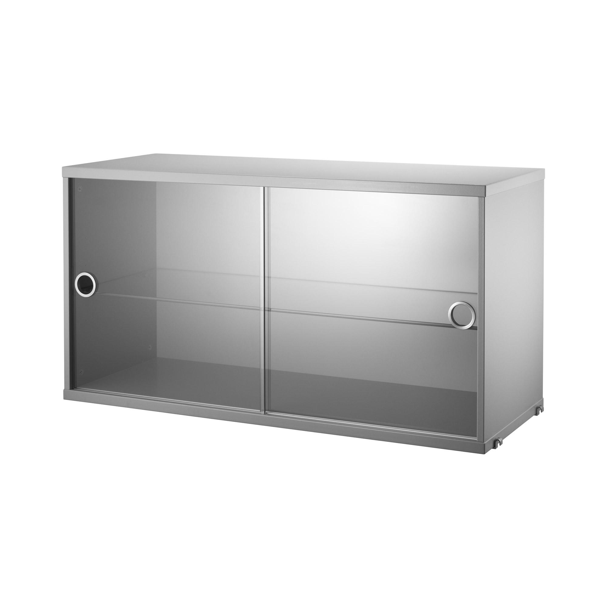 Shelf With Sliding Glass Doorsstring display cabinet with sliding glass doors skandium