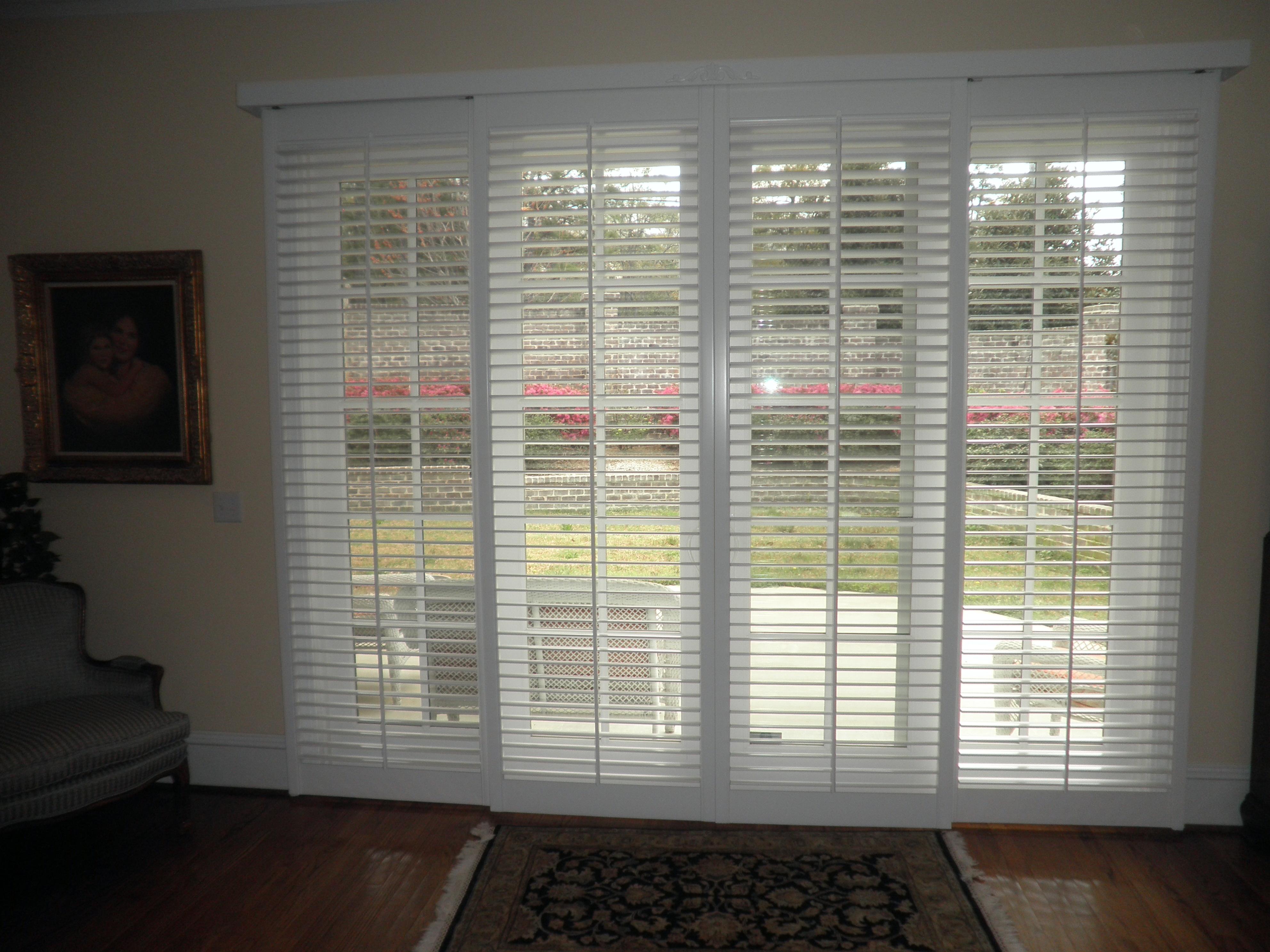 Shutters Blinds For Sliding Glass DoorsShutters Blinds For Sliding Glass Doors