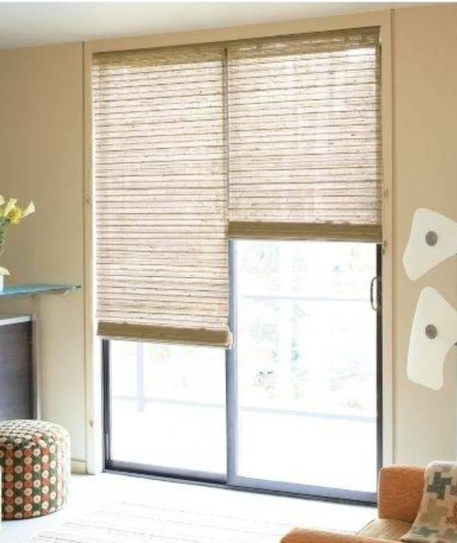 Sliding Door Shade Optionsbest sliding door window treatments window coverings for sliding