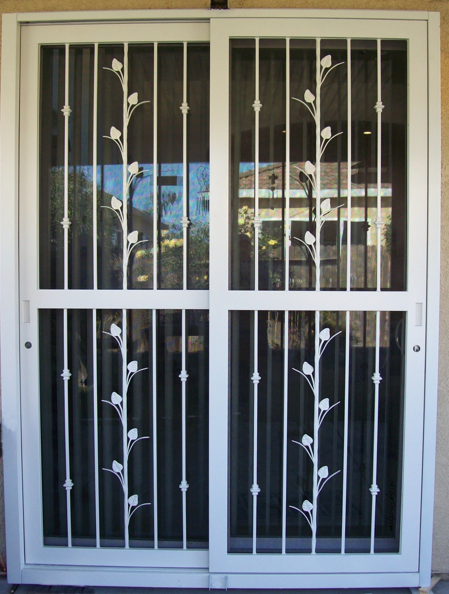 Sliding Glass Door Security Screenssliding glass doors and windows are aesthetically pleasing because