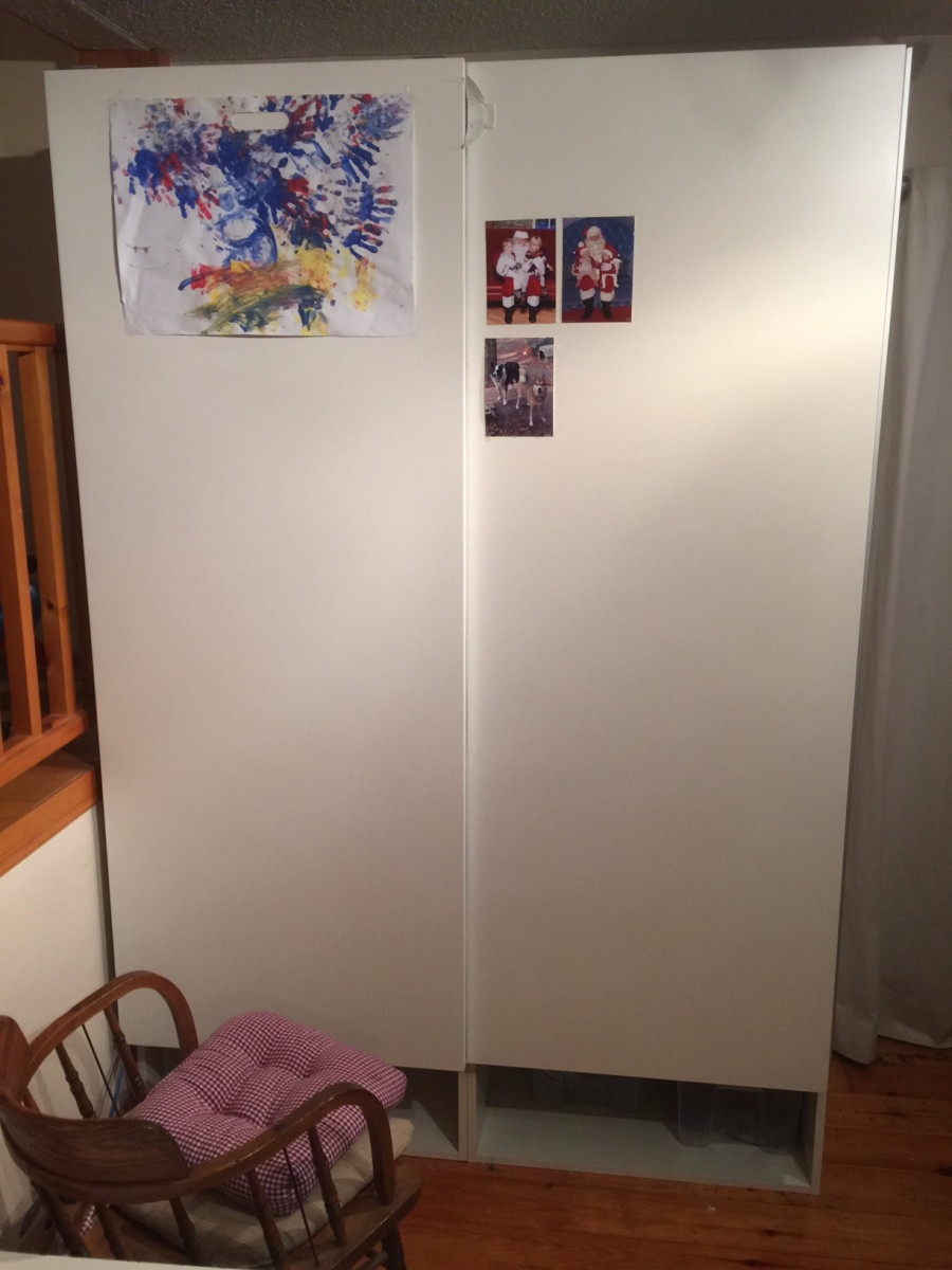 Akurum Wall Cabinet With Sliding Doors900 X 1200