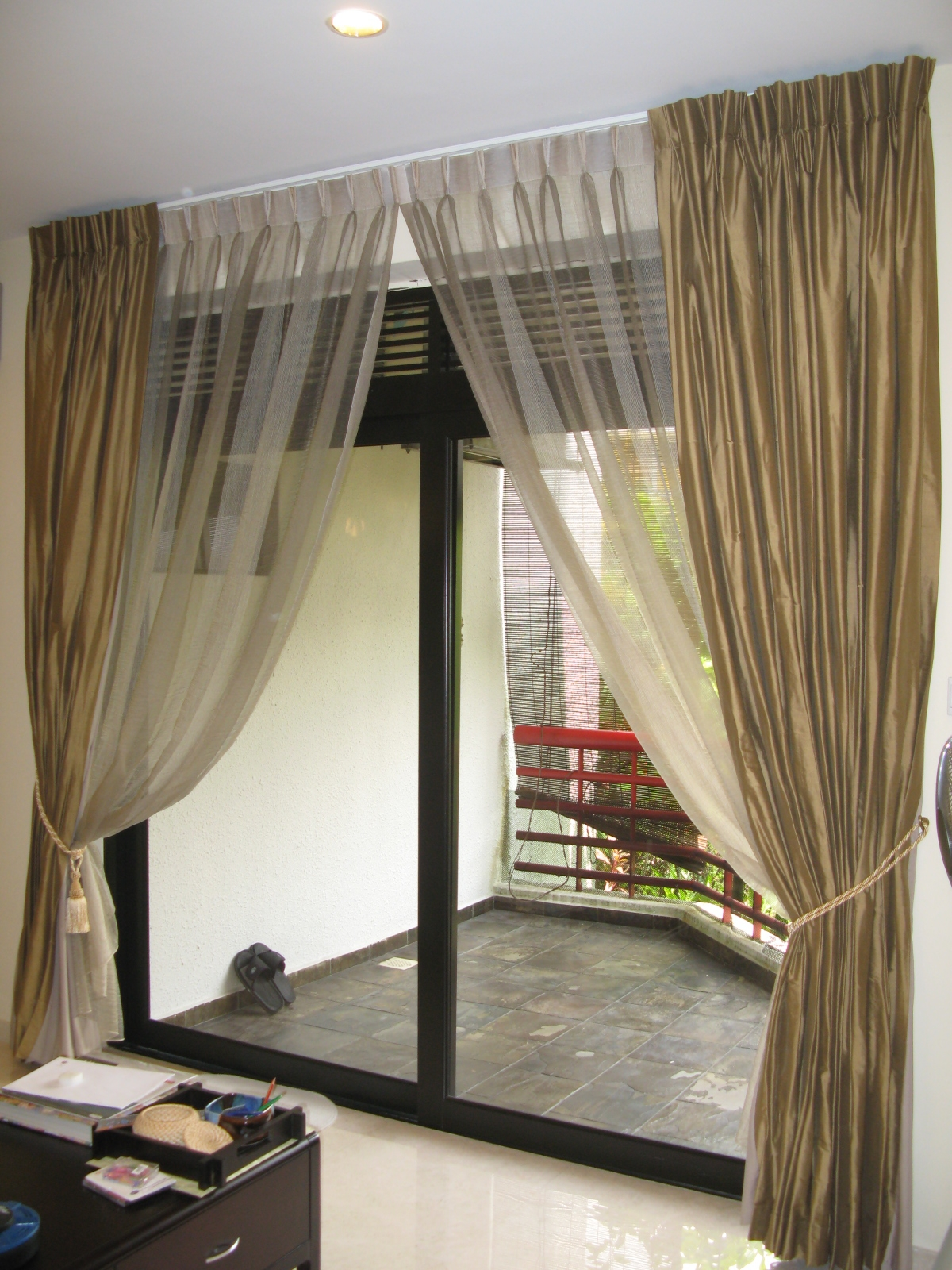 Curtain Ideas For Sliding Doorsstunning patio door curtains contemporary home design ideas