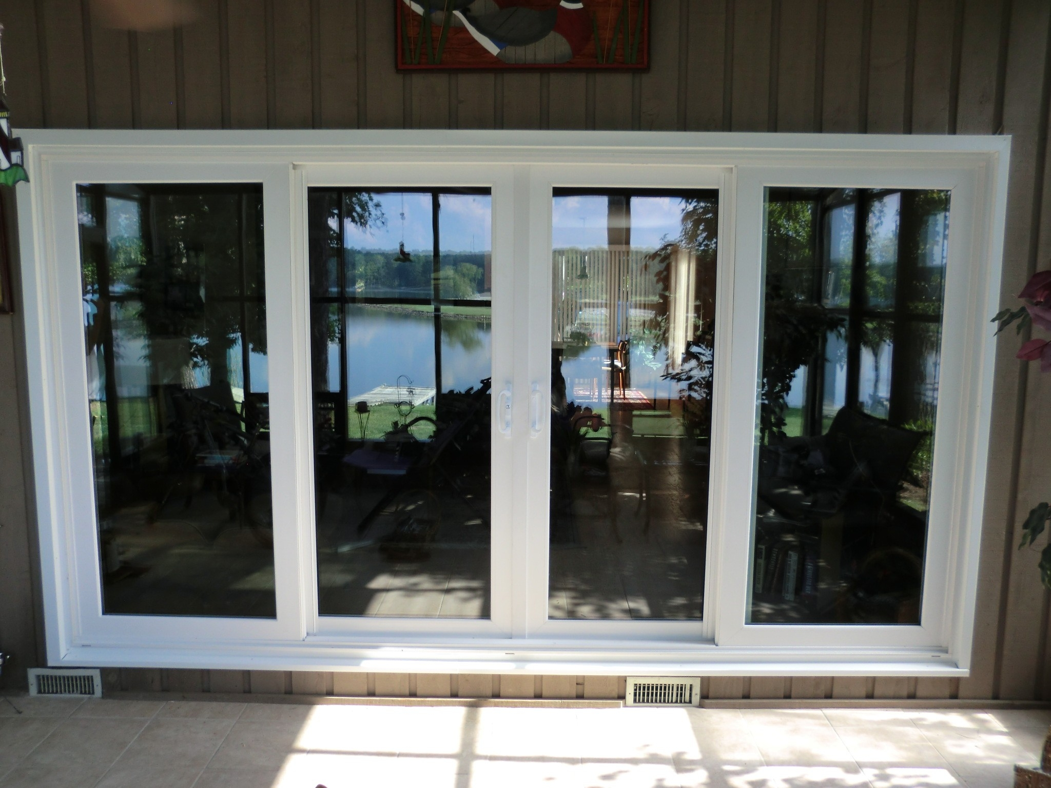 Dual Pane Sliding Patio Doors