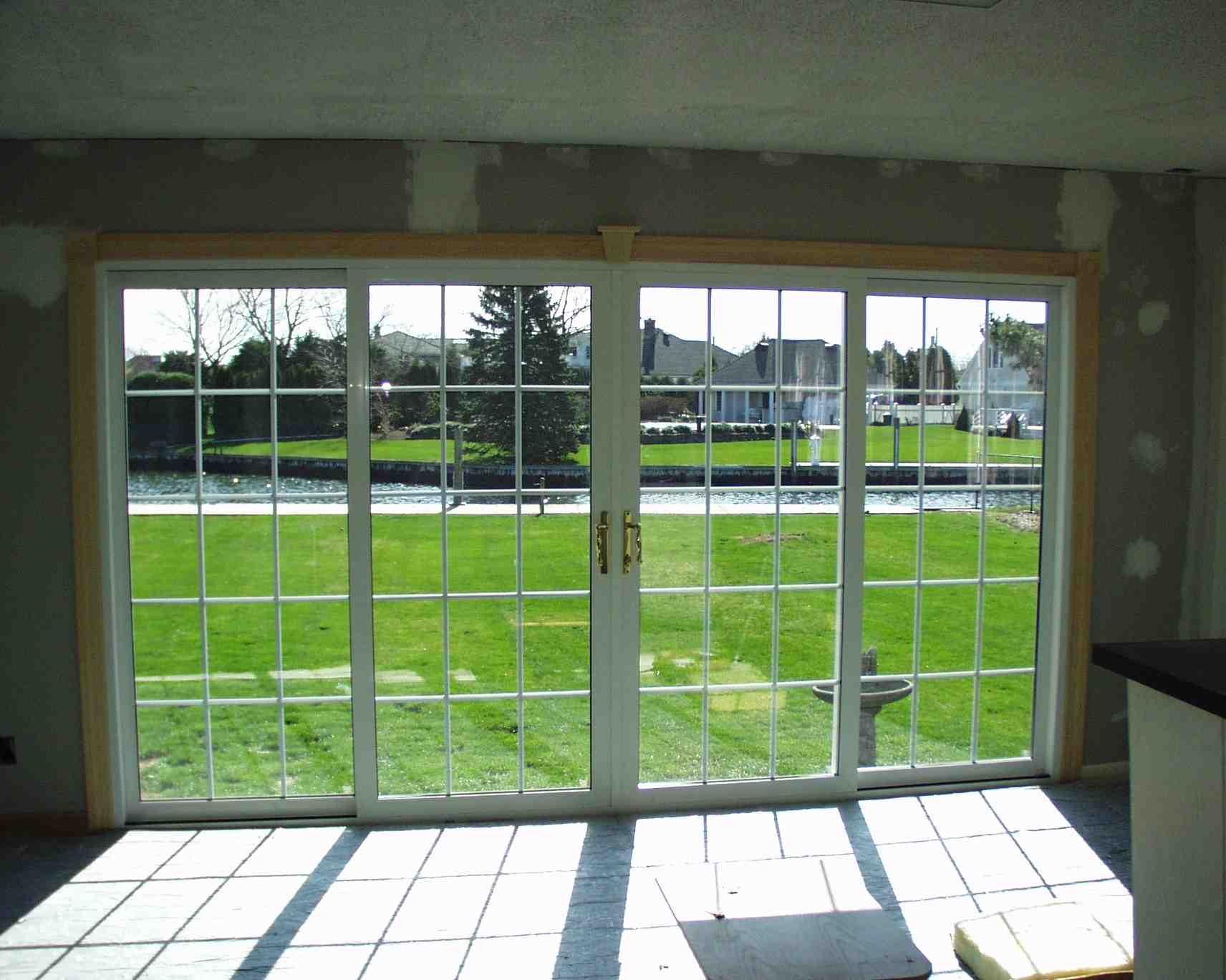 Dual Sliding Glass Doors1712 X 1368