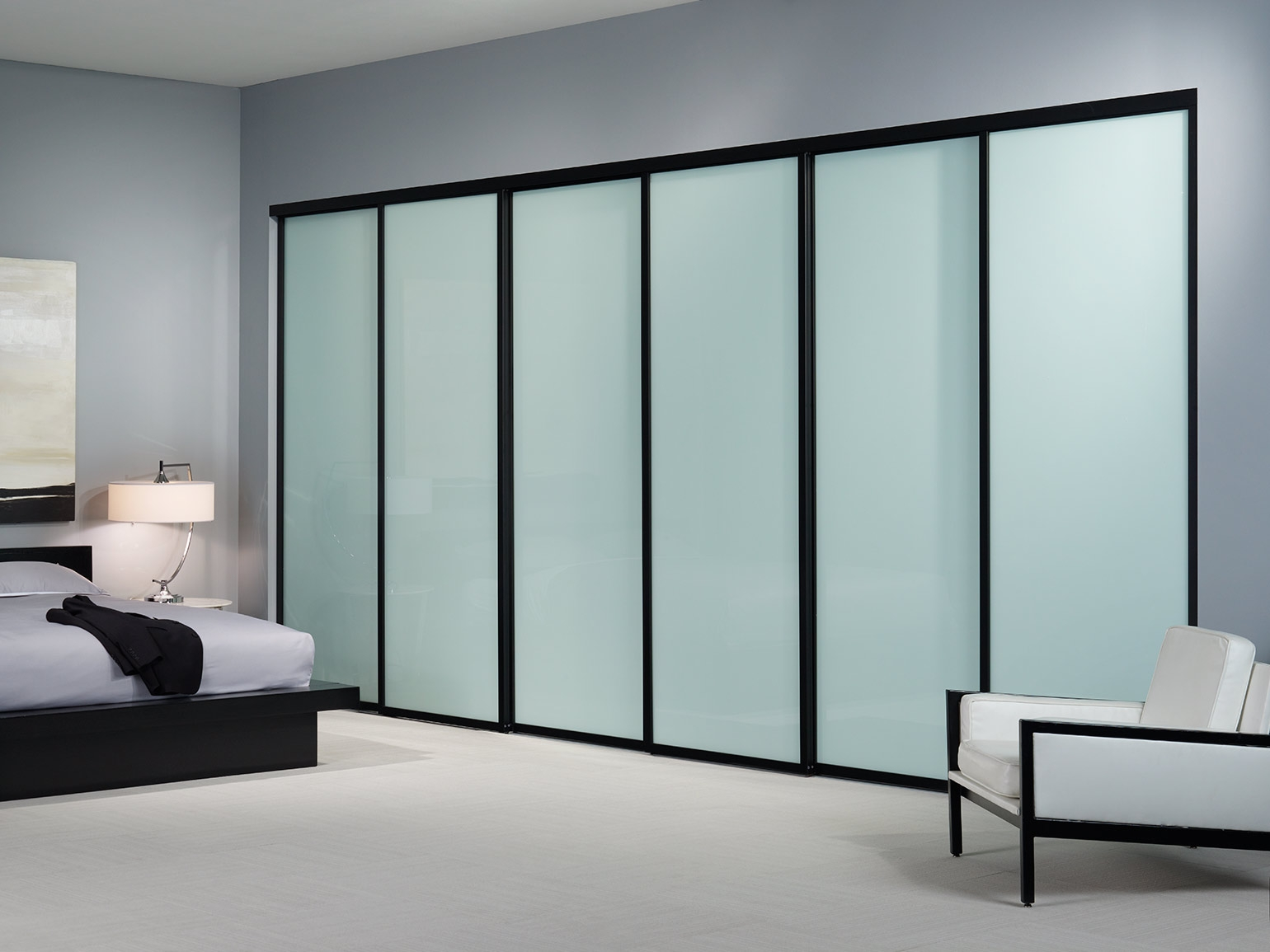 Frosted Sliding Glass Doors1540 X 1155