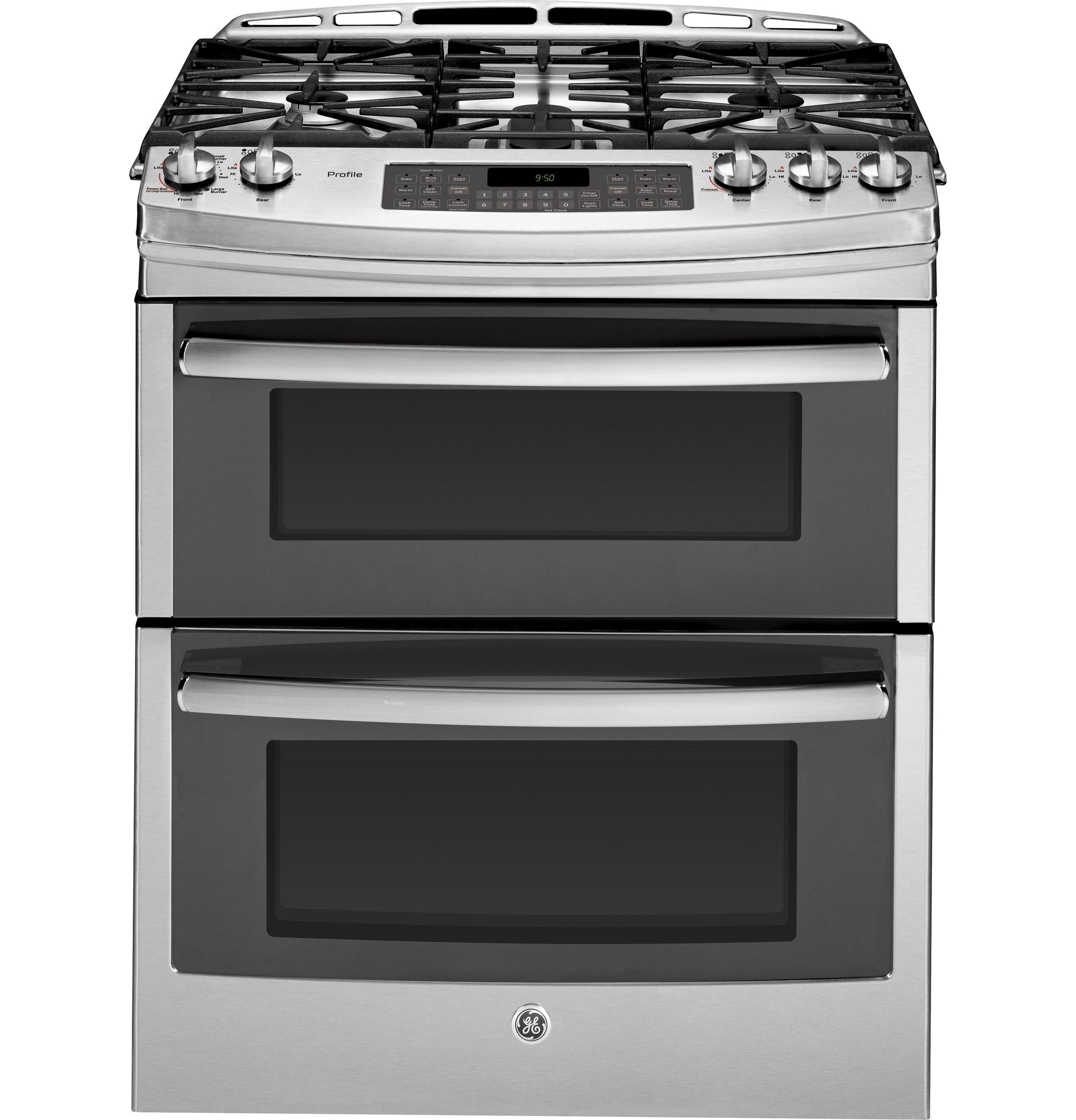 Gas Oven With Slide Under Doorranges from ge appliances