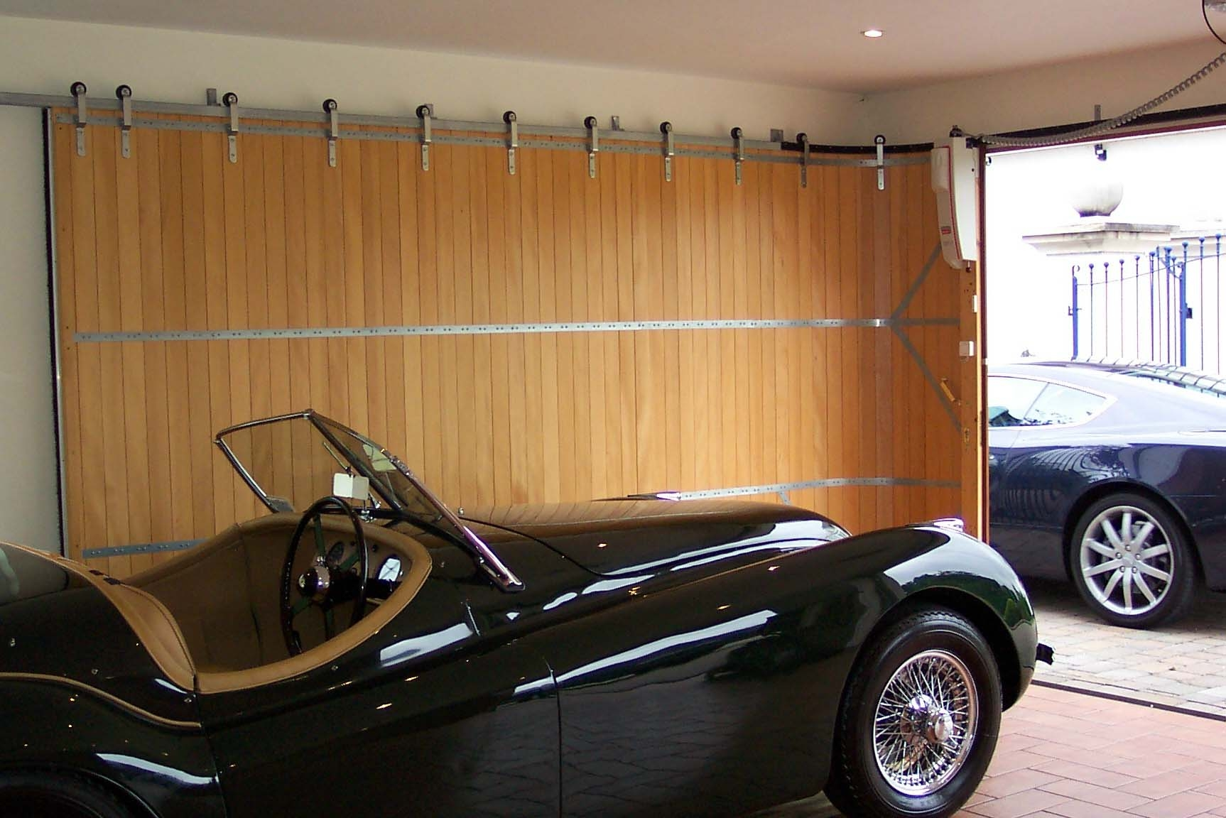 Henderson Sliding Garage Door Track
