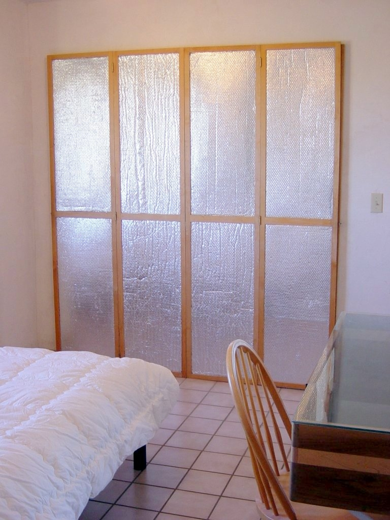 Insulated Sliding Glass Door Panelsinsulating window or door shutters using astrofoil reflective