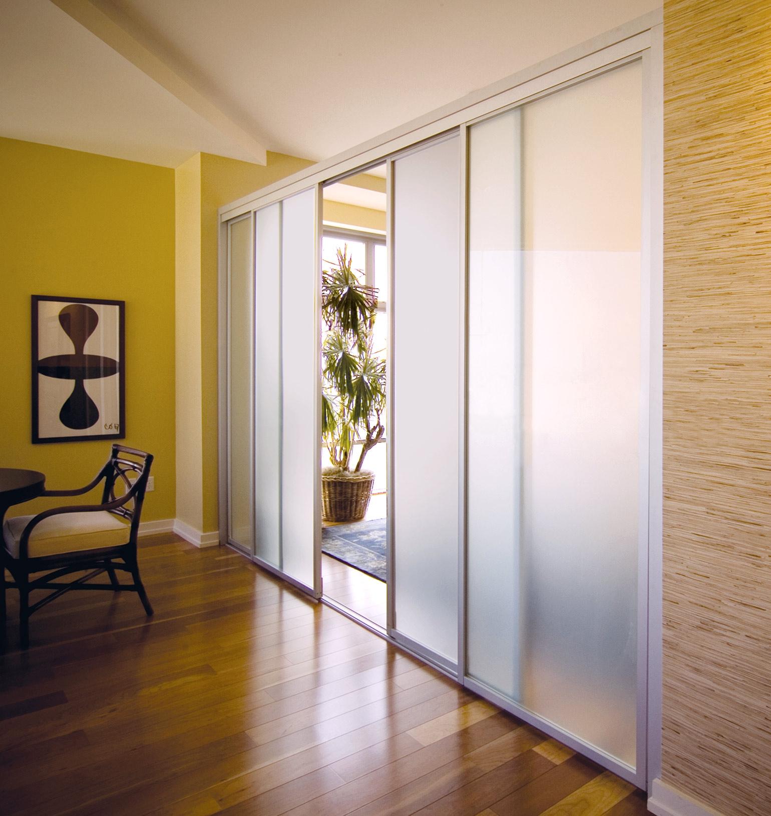 Interior Sliding Glass Doors Room Dividers