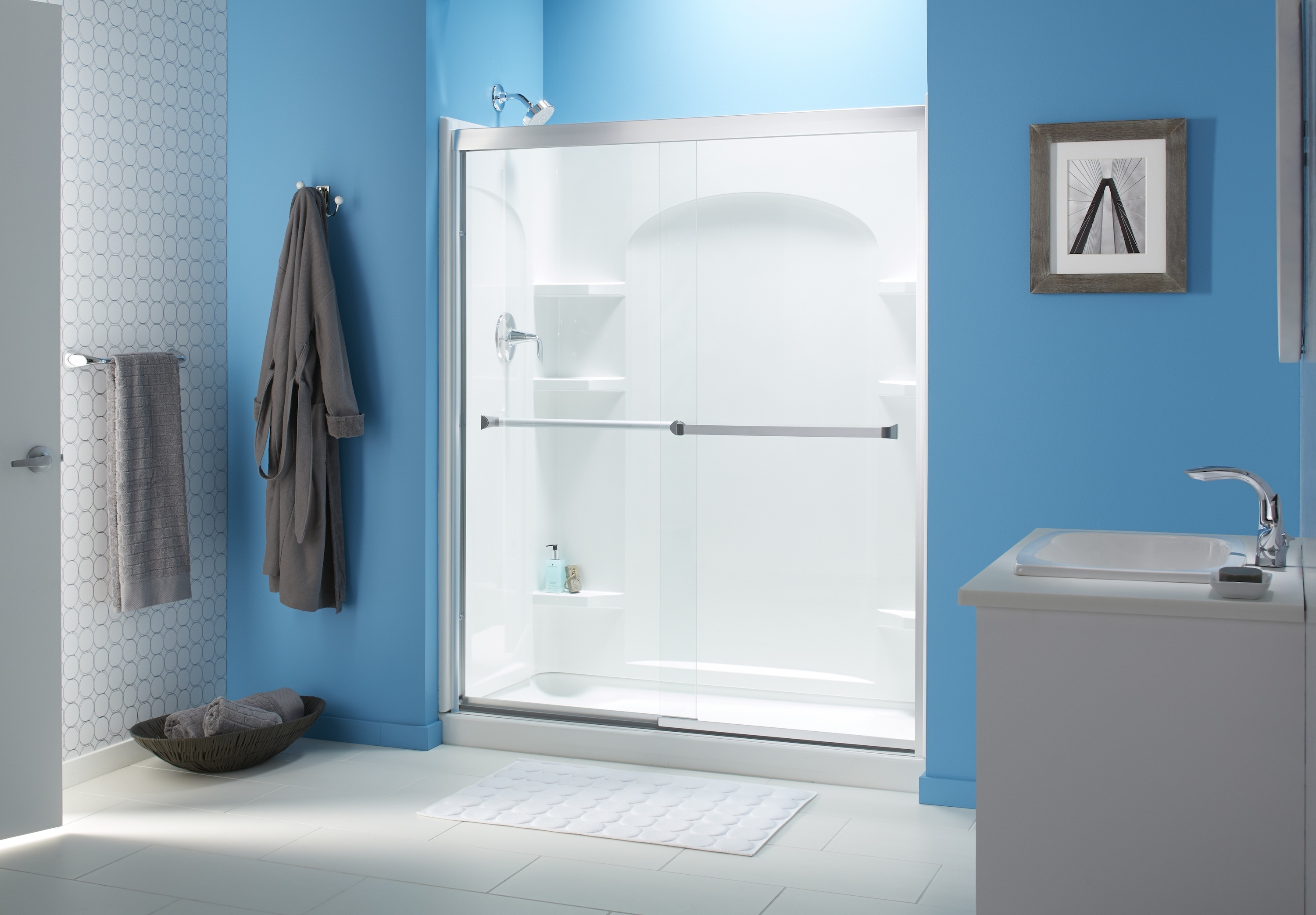 Kohler Levity Sliding Bath And Shower Doorspros and cons of frameless shower doors angies list