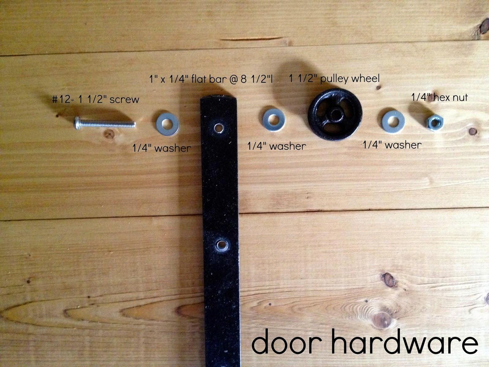 Make Sliding Barn Door HardwareMake Sliding Barn Door Hardware