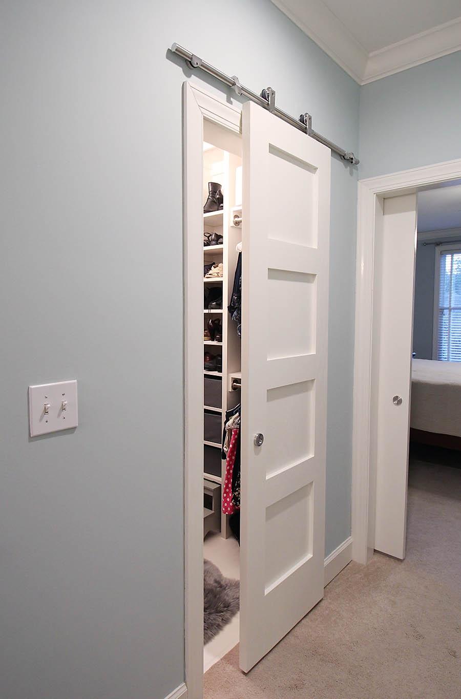 Modern Barn Sliding Closet Doorsmodern barn doors an easy solution to awkward entries
