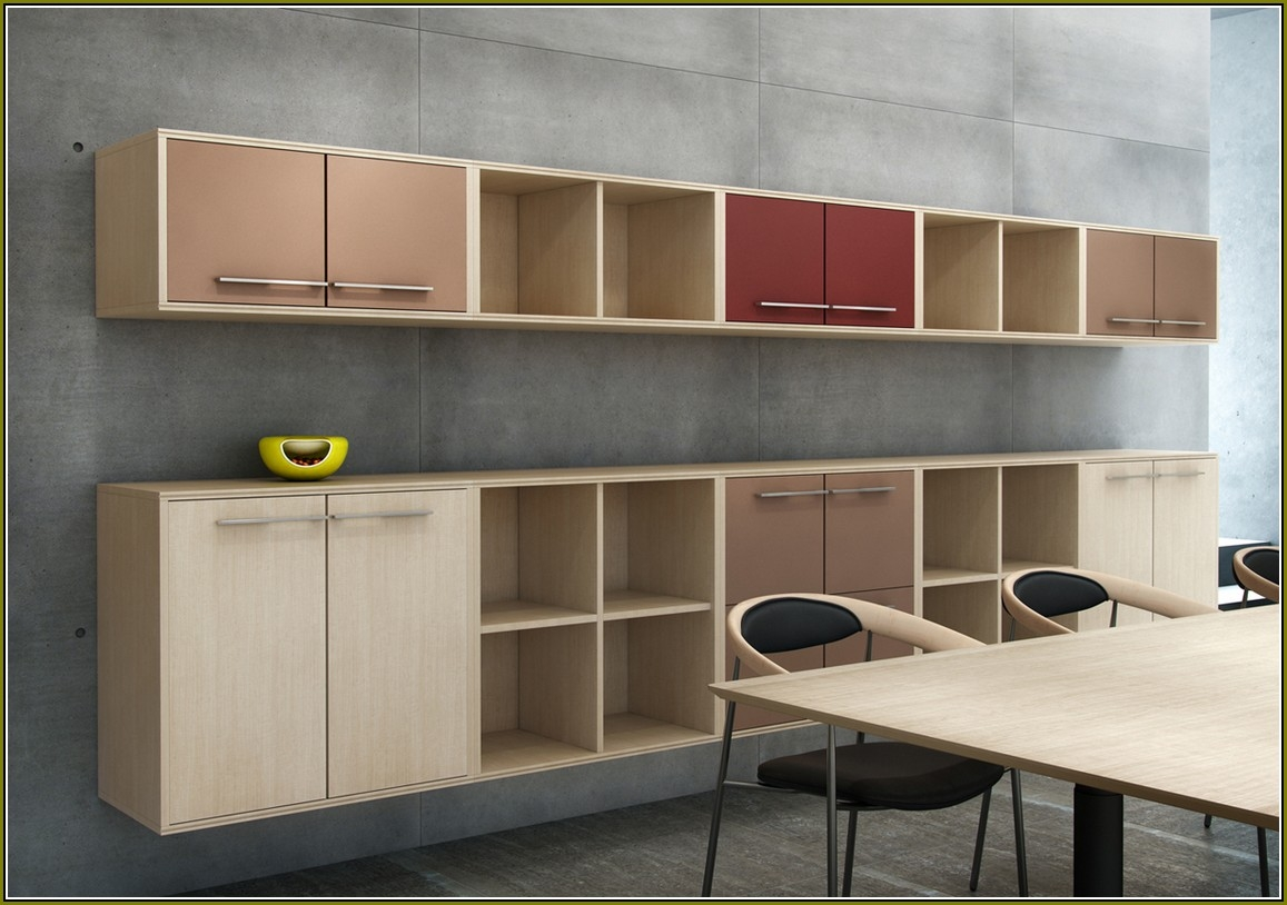 Office Wall Cabinets With Sliding Doors