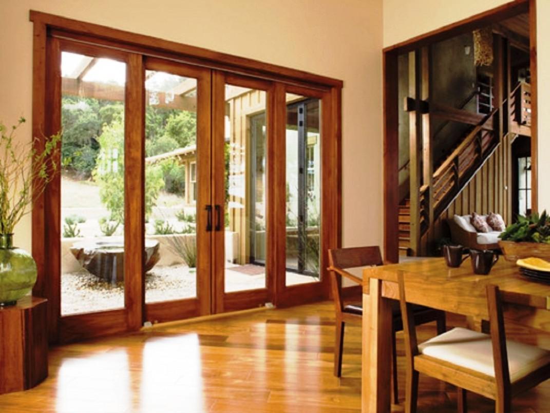 Pella Architect Series Quad Sliding Door