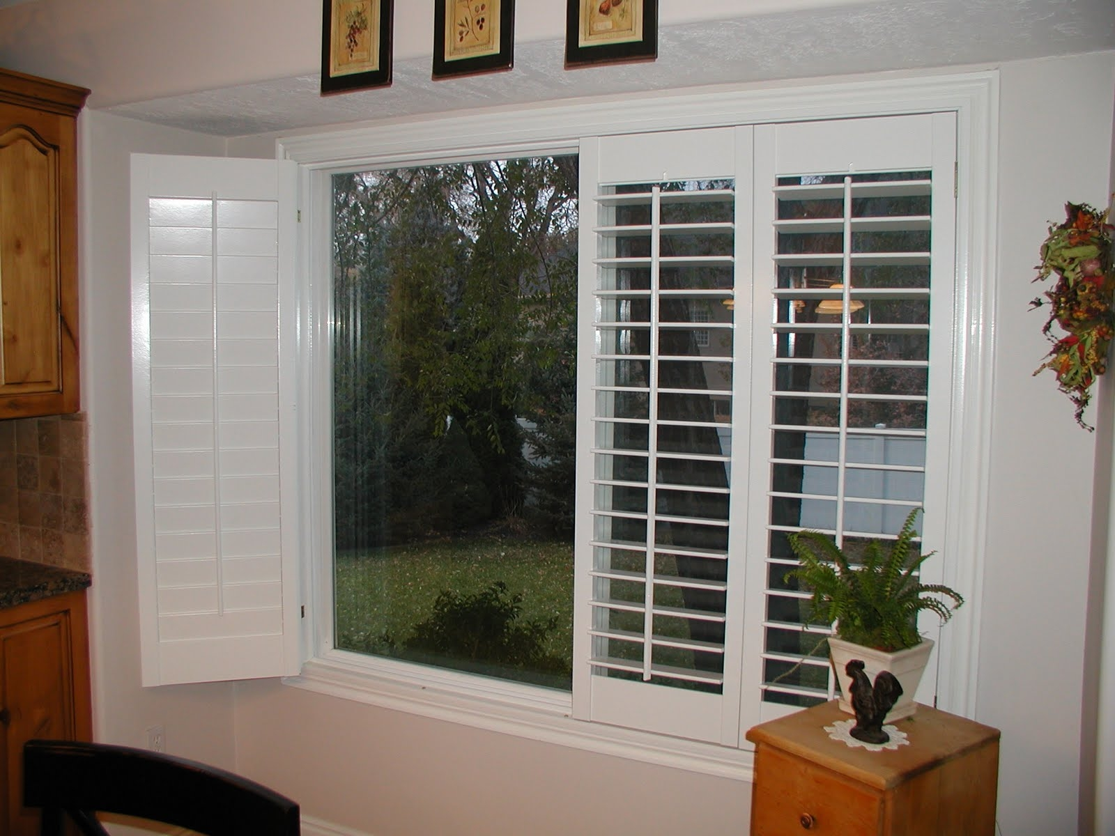 Plantation Shutters For Double Sliding DoorsPlantation Shutters For Double Sliding Doors