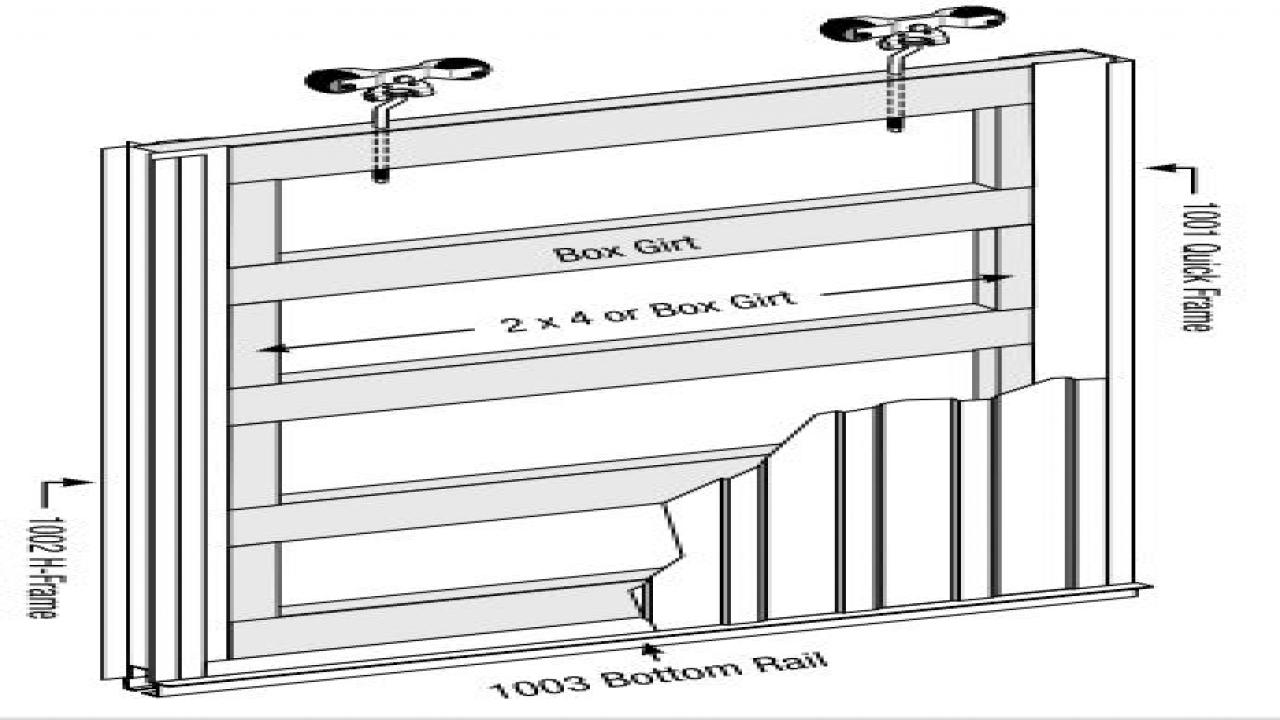Pole Barn Sliding Door Latches1280 X 720