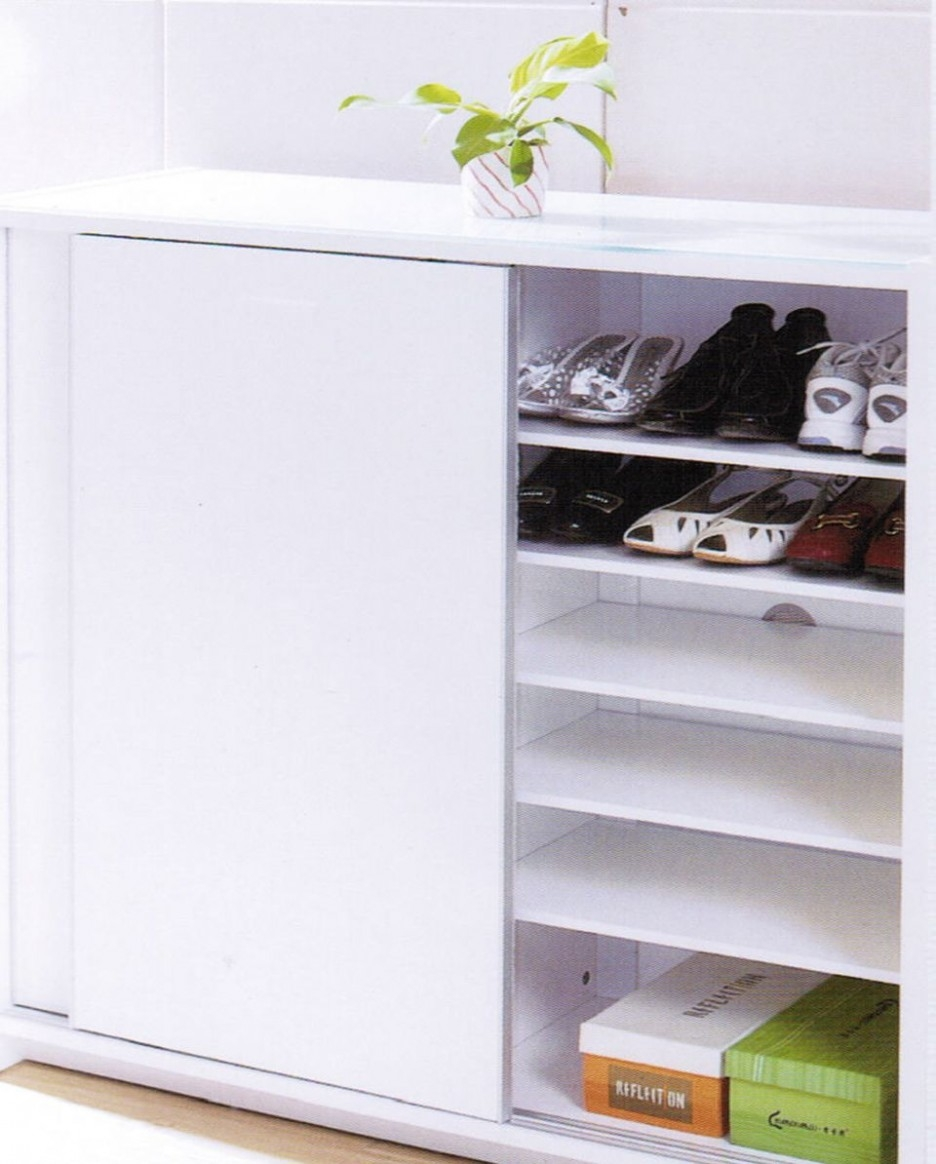 Shoe Storage Cabinet With Sliding Doors936 X 1164