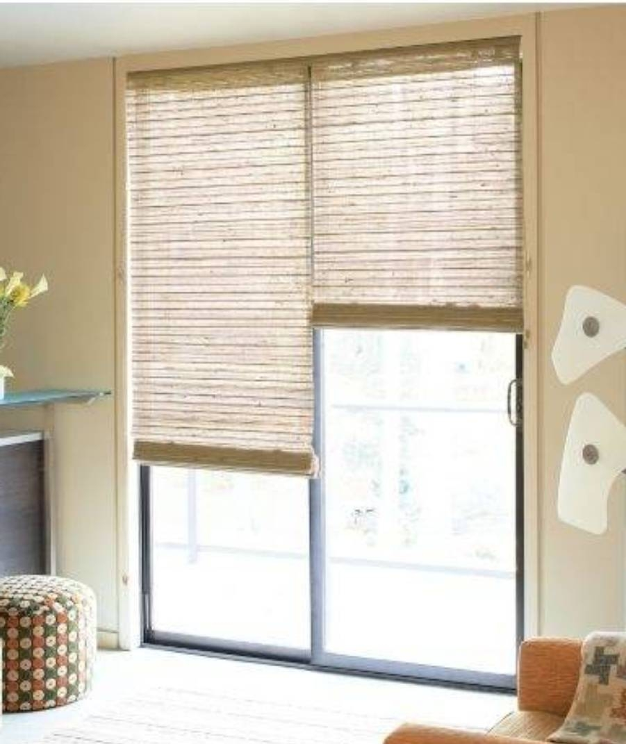 Sliding Door Curtains Or Blinds901 X 1071