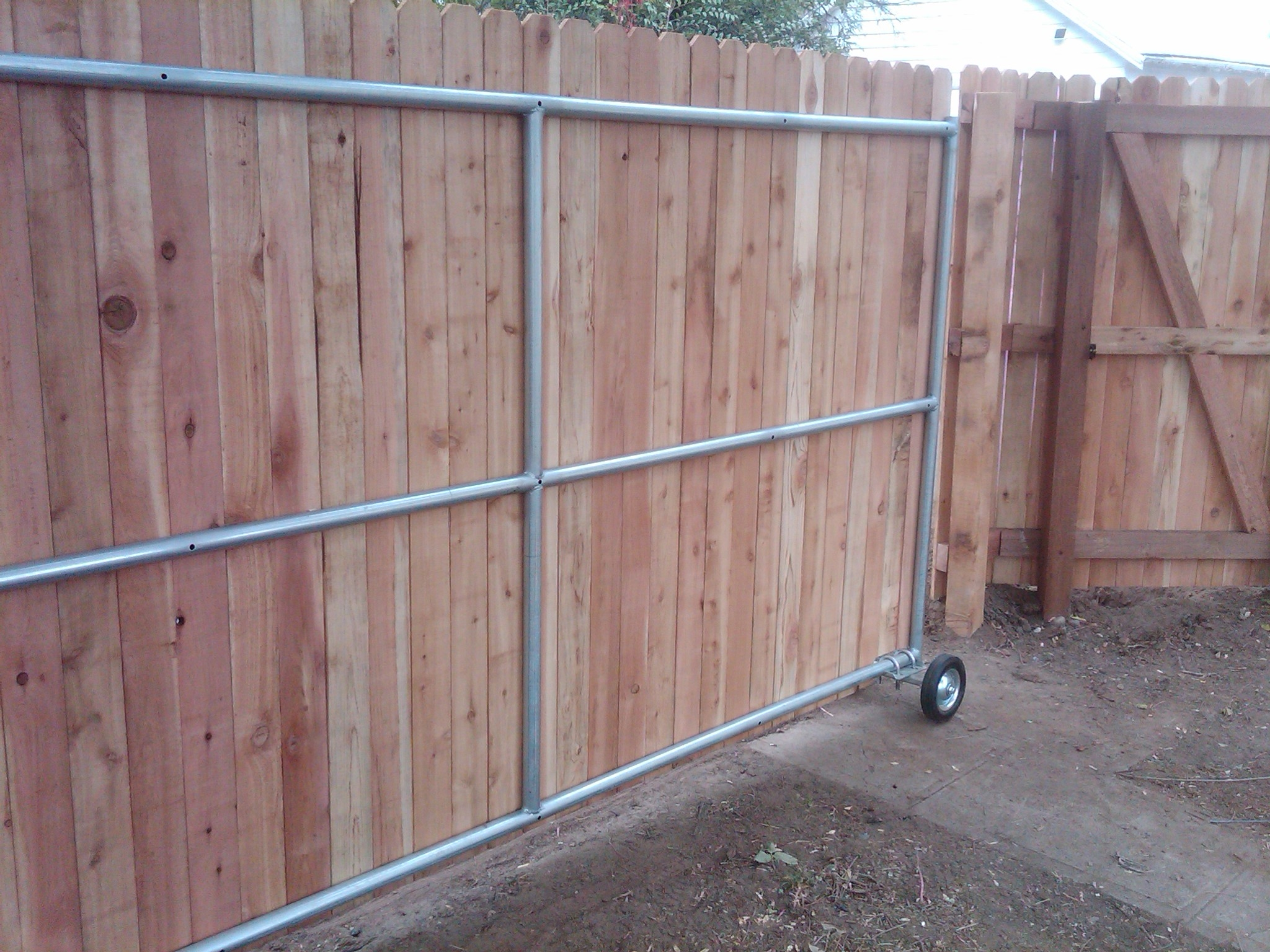 Sliding Fence Door Kit