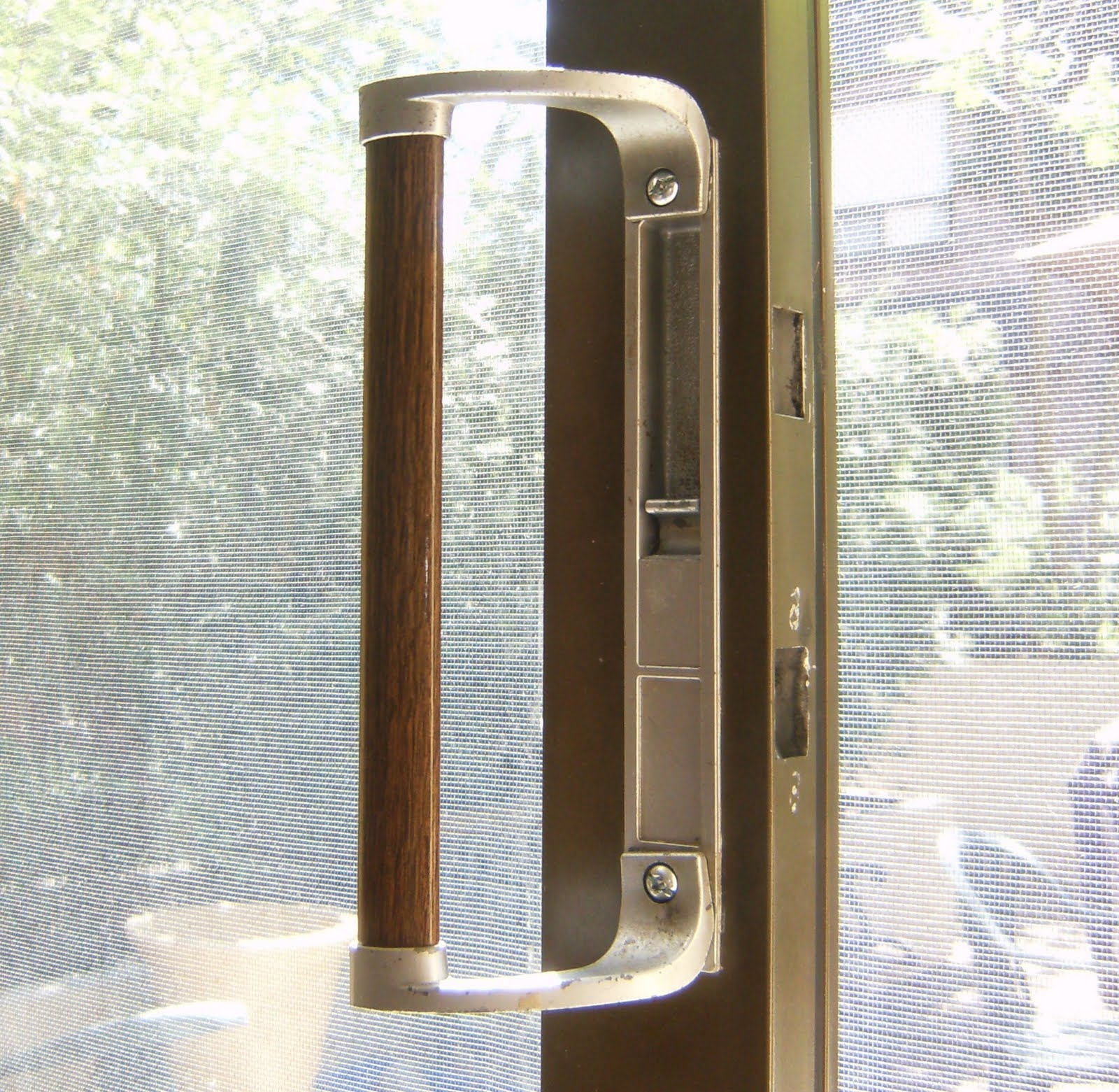 Sliding Glass Door Handle With Mortise Lock