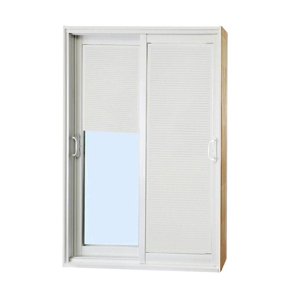 Sliding Patio Door With Internal Mini BlindsSliding Patio Door With Internal Mini Blinds