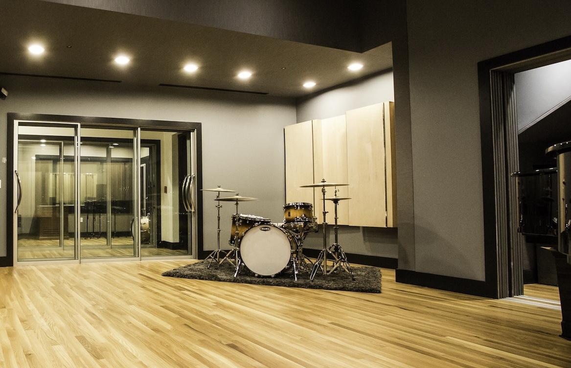 Soundproof Sliding Glass Door Room