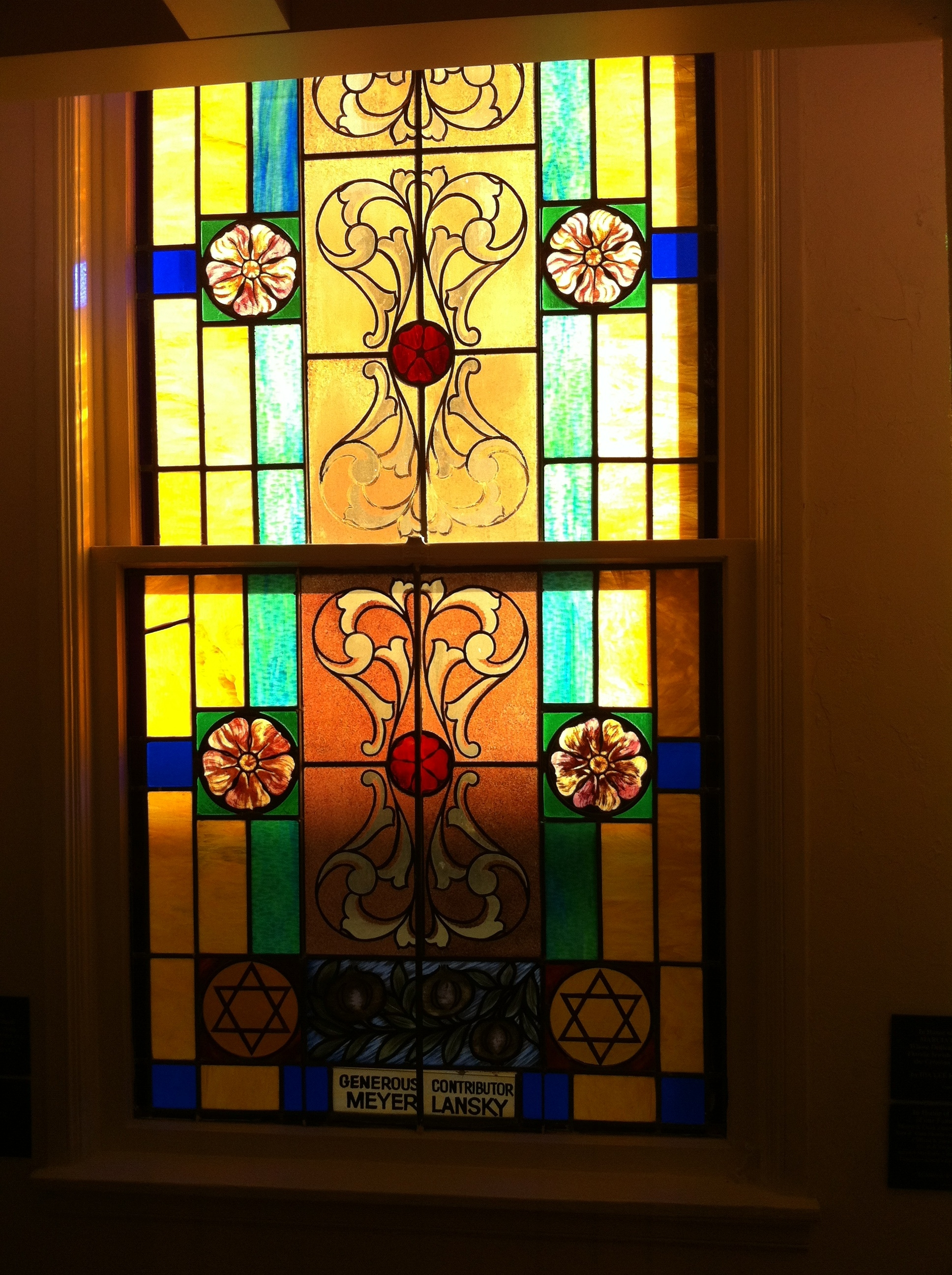 Stained Glass Film For Sliding Glass Doors
