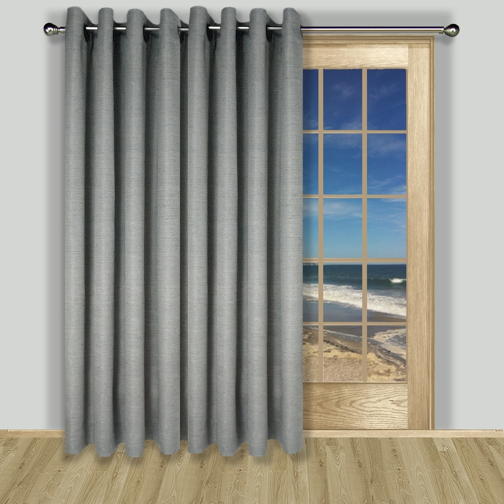 What size curtains for sliding glass door for Sliding glass doors sizes