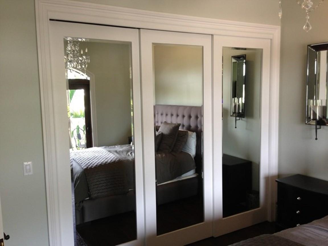 Triple Sliding Mirror Closet DoorsTriple Sliding Mirror Closet Doors
