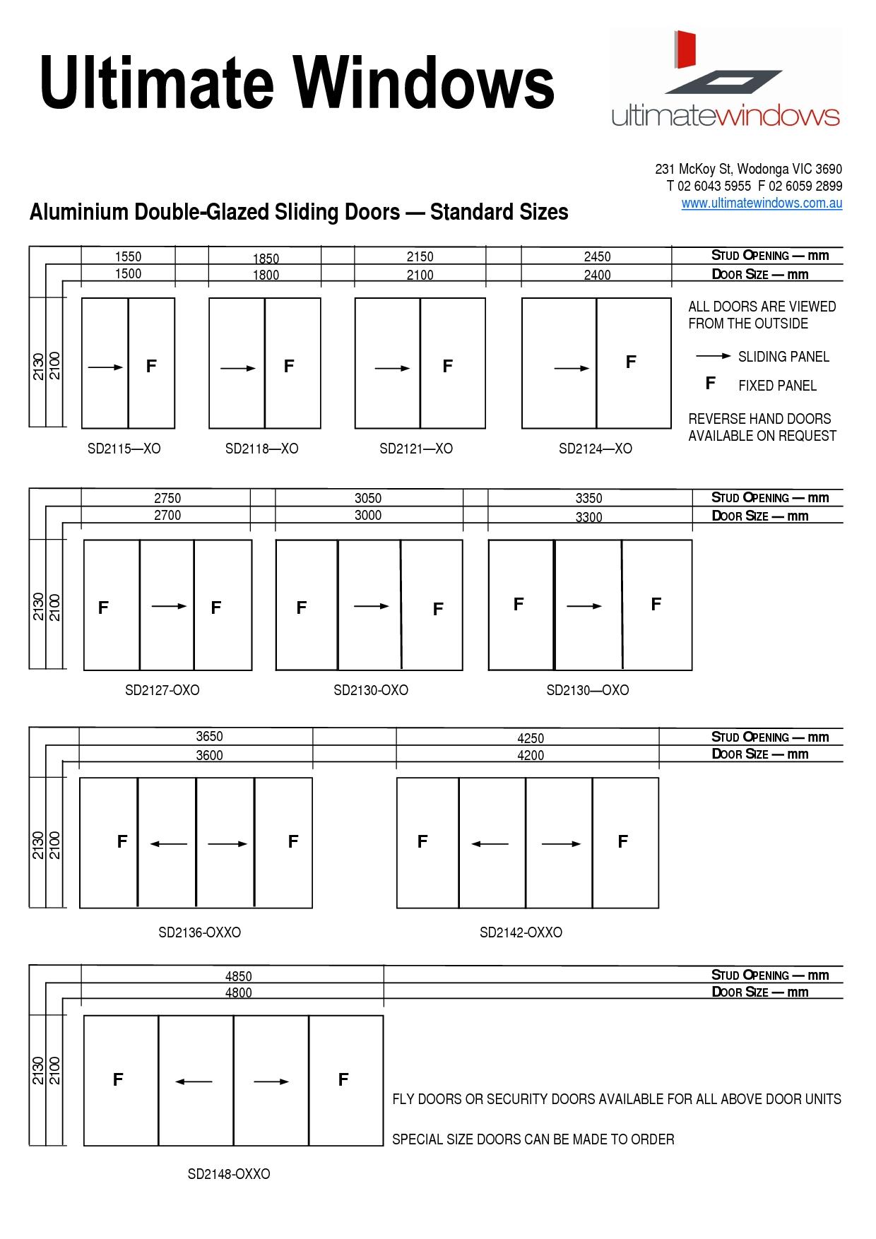 Typical Sliding Screen Door Sizesliding door standard sliding glass door sizes home interior ideas
