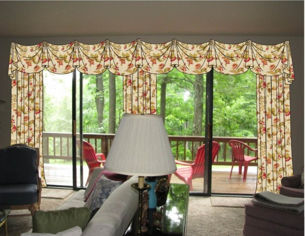 Valances Over Sliding Glass Doors