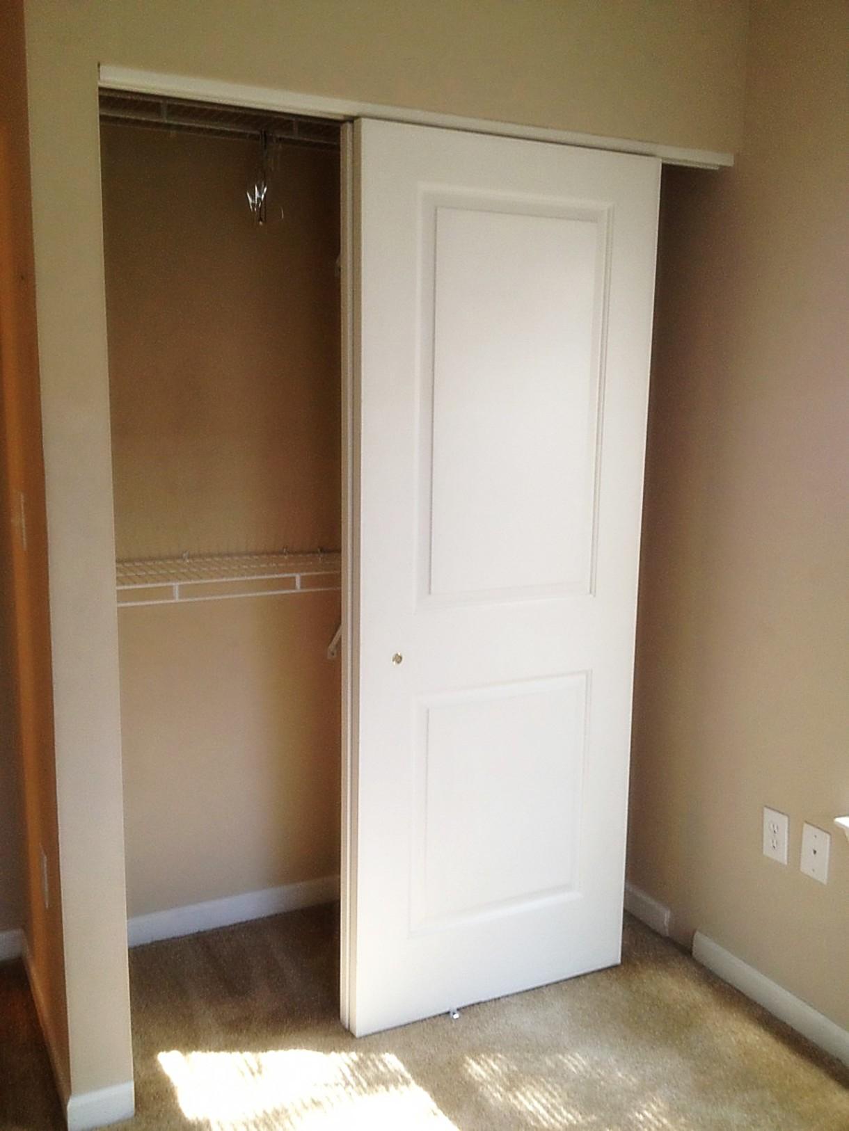Wall Mount Sliding Closet Door Hardware1220 X 1626