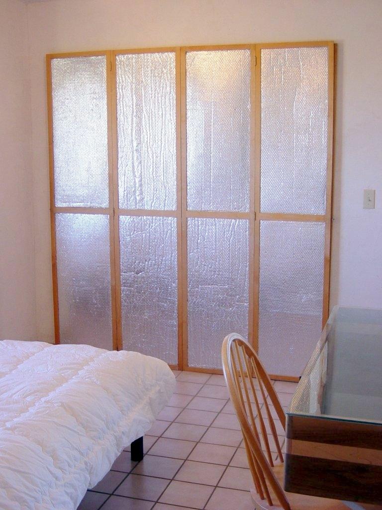 Ways To Insulate Sliding Glass Doorsinsulating window or door shutters using astrofoil reflective