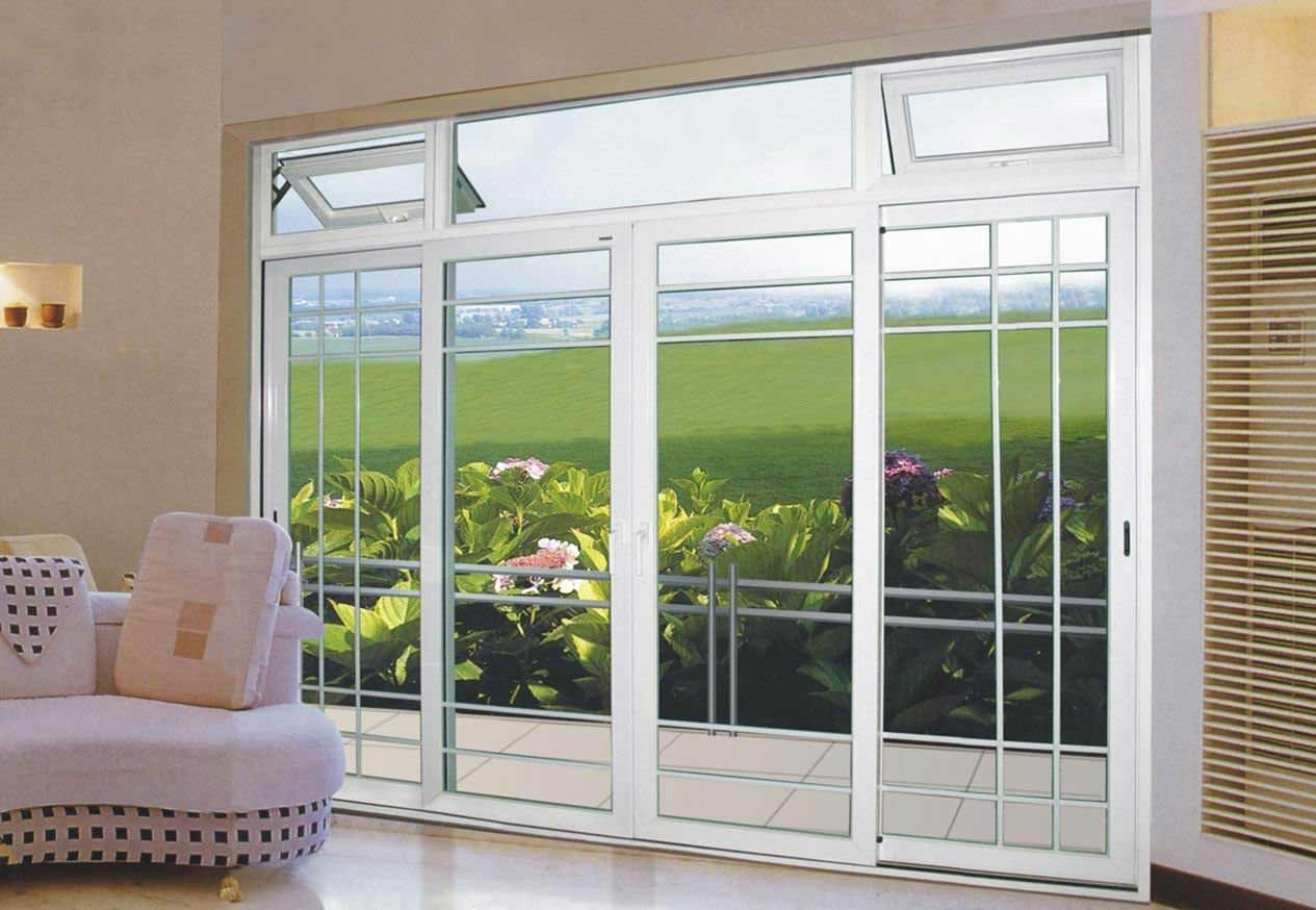 8 Ft Aluminum Sliding Glass Door