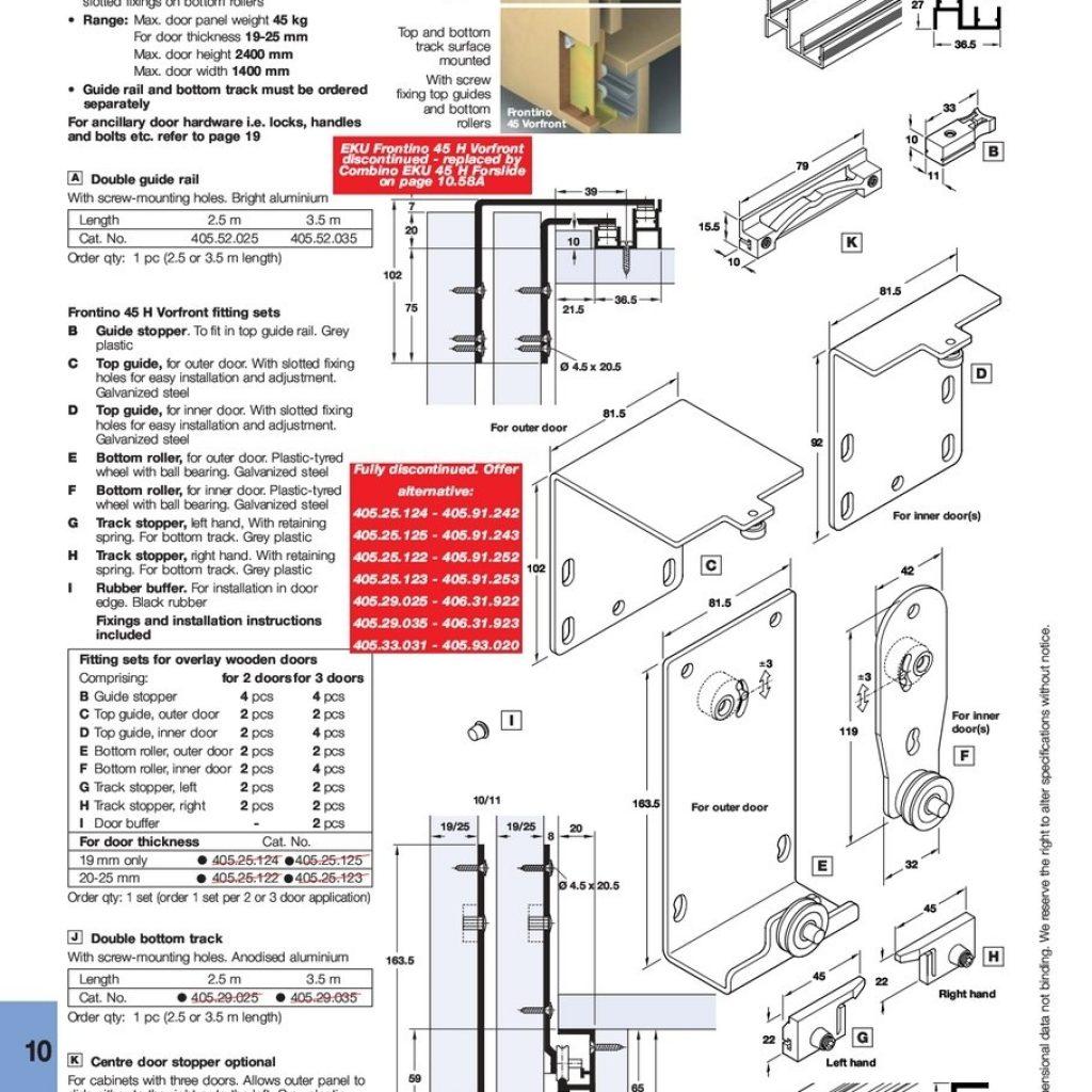 Hafele Sliding Cabinet Door Hardware