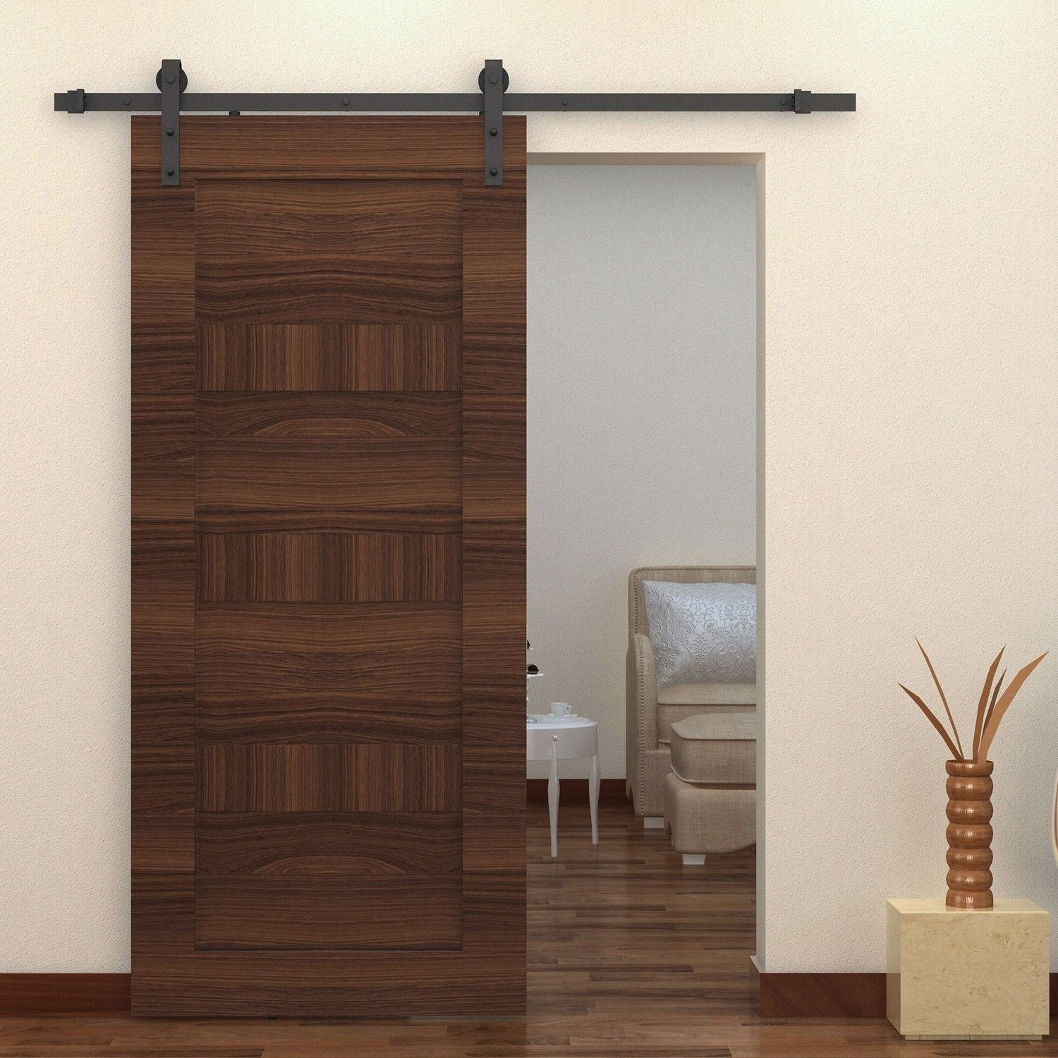 Indoor Sliding Barn Door Kit