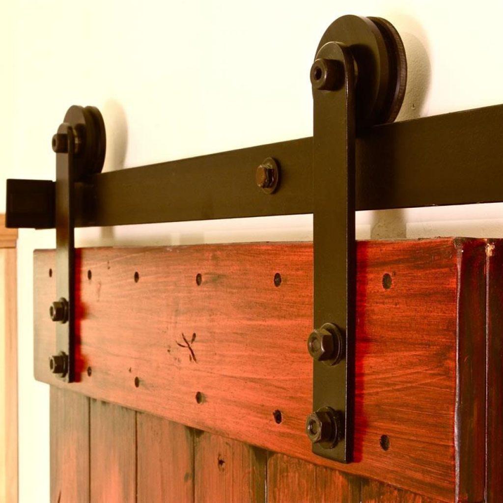 Interior Sliding Barn Wood Door Hardware Track Set
