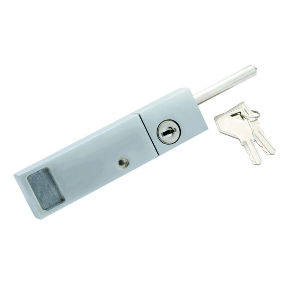 Keyed Sliding Glass Door Locks Securityfirst watch security chrome keyed patio door lock with rotating