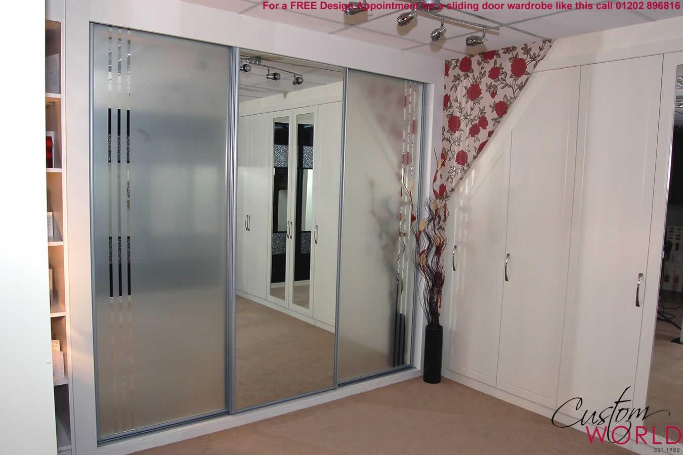 Mirrored Sliding Door Wardrobe Kit Sliding Doors